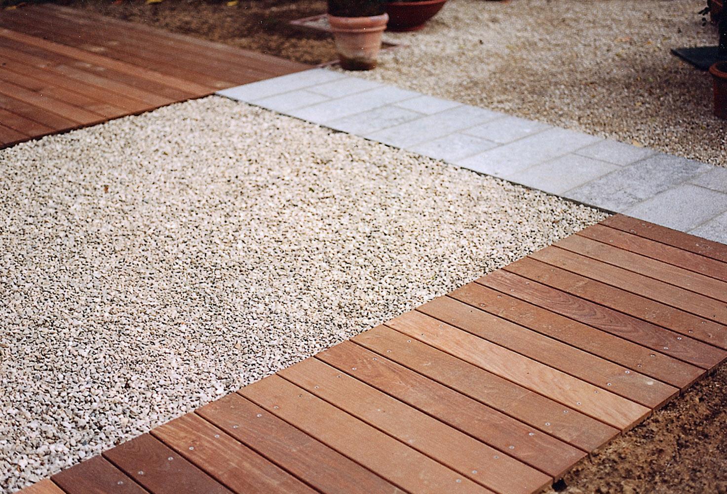 Matériaux Proposés | Architecte De Jardin Serge Homez ... destiné Dolomie Jardin