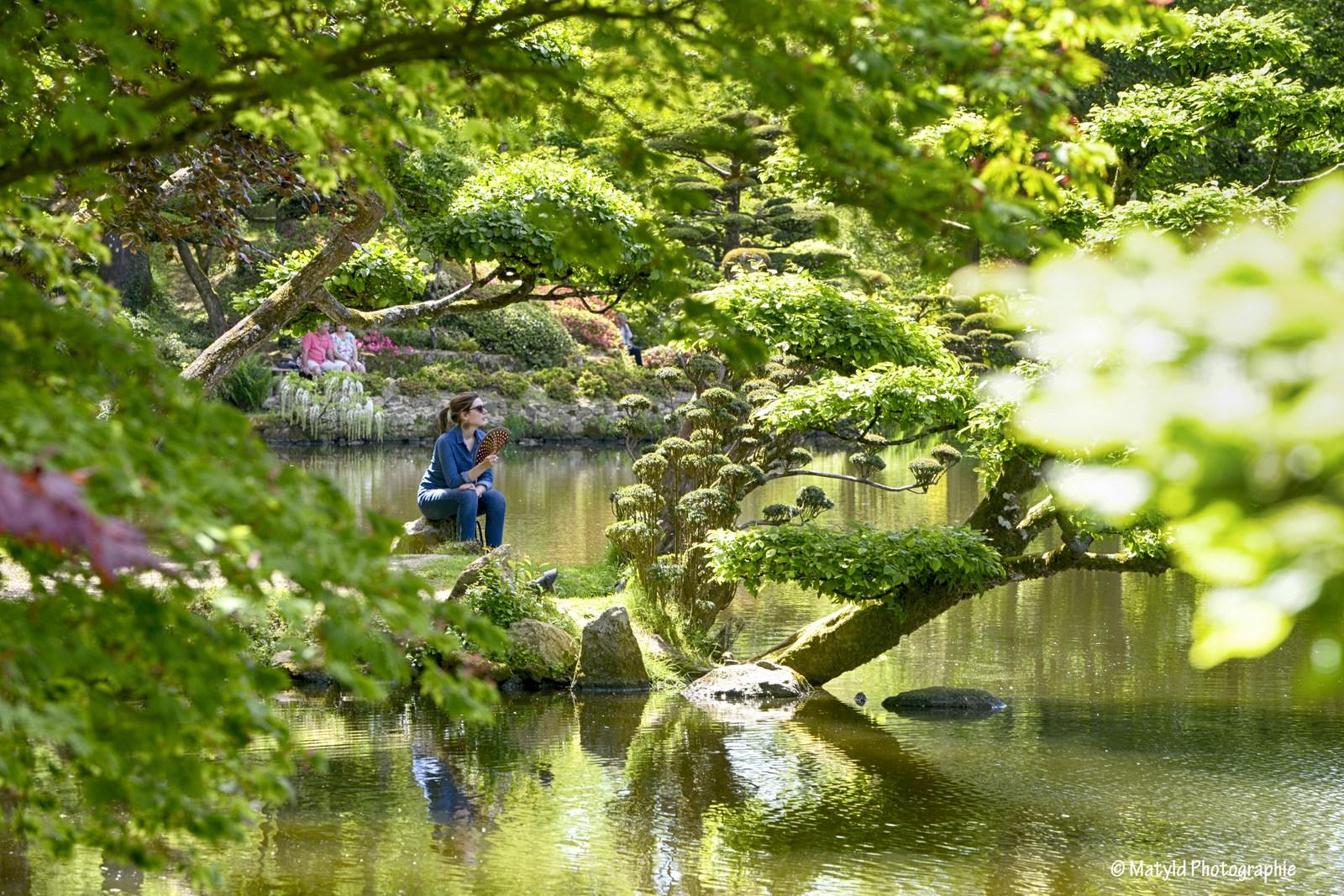 Maulévrier Oriental Garden Parks And Gardens Maulevrier | 49360 tout Jardin Zen Belgique