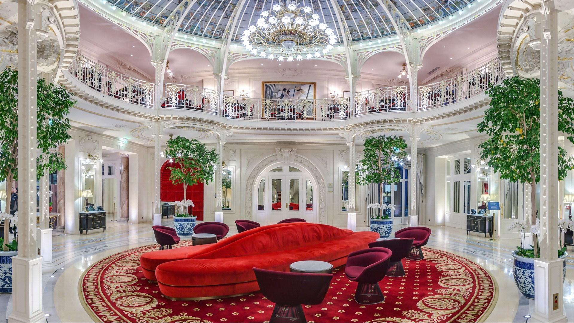 Meetings And Events At Hotel Hermitage Monte-Carlo 5*, Monte ... dedans Salon De Jardin En Pierre