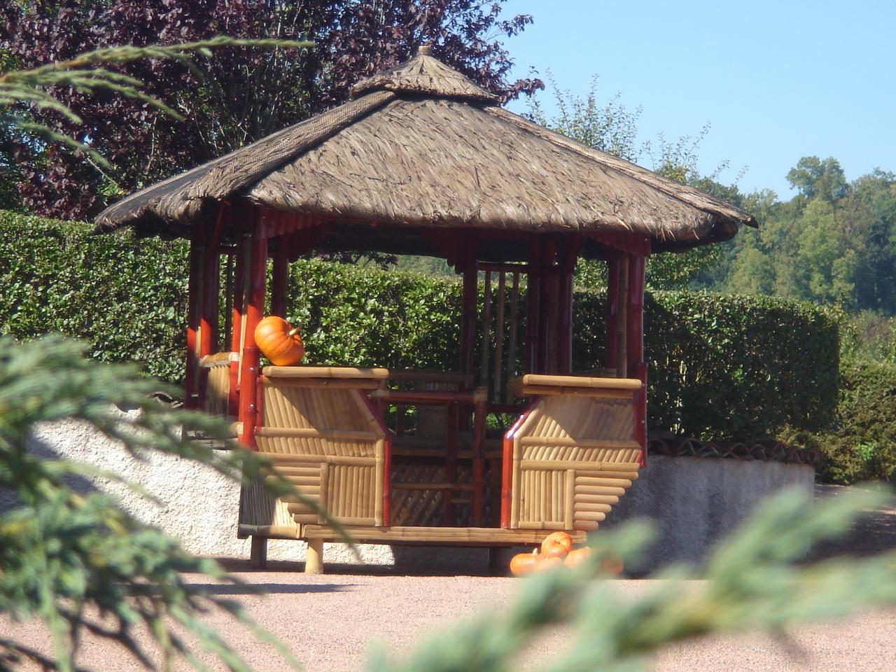 Meilleur Authentique 339A6 Ff731 Abri De Jardin En Bambou ... dedans Salon De Jardin En Bois Pas Cher