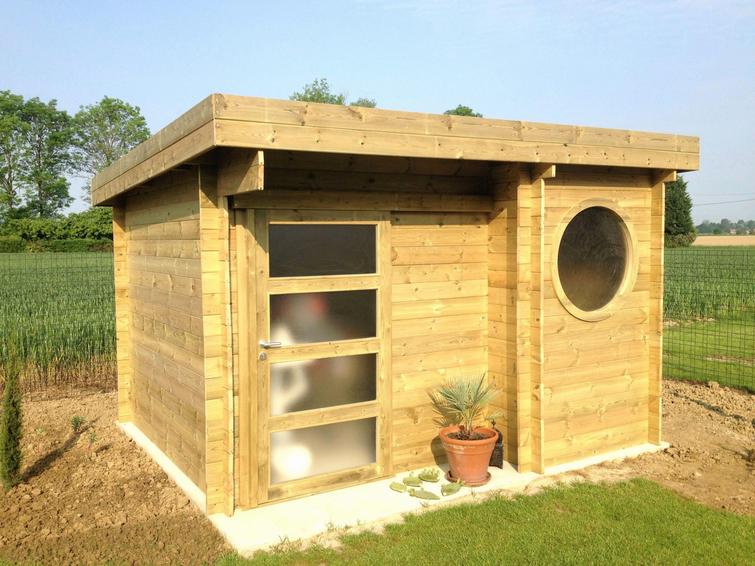 Meilleur De Abri De Jardin Toit Plat 10M2 - Luckytroll pour Abris De Jardin Pas Cher Belgique