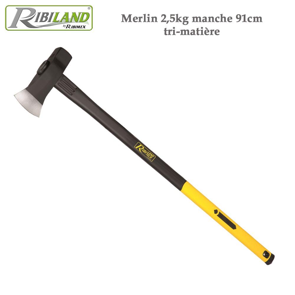 Merlin 2,5 Kg Manche 91Cm Tri-Matière concernant Pioche Jardin