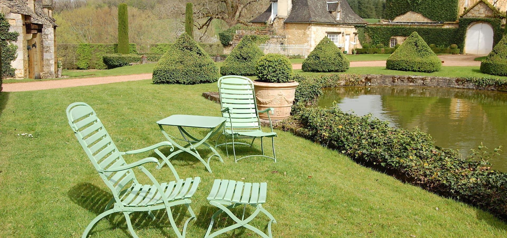 Meubles De Jardin Potier: Fauteuil Akebia | Homify serapportantà Fauteuille De Jardin