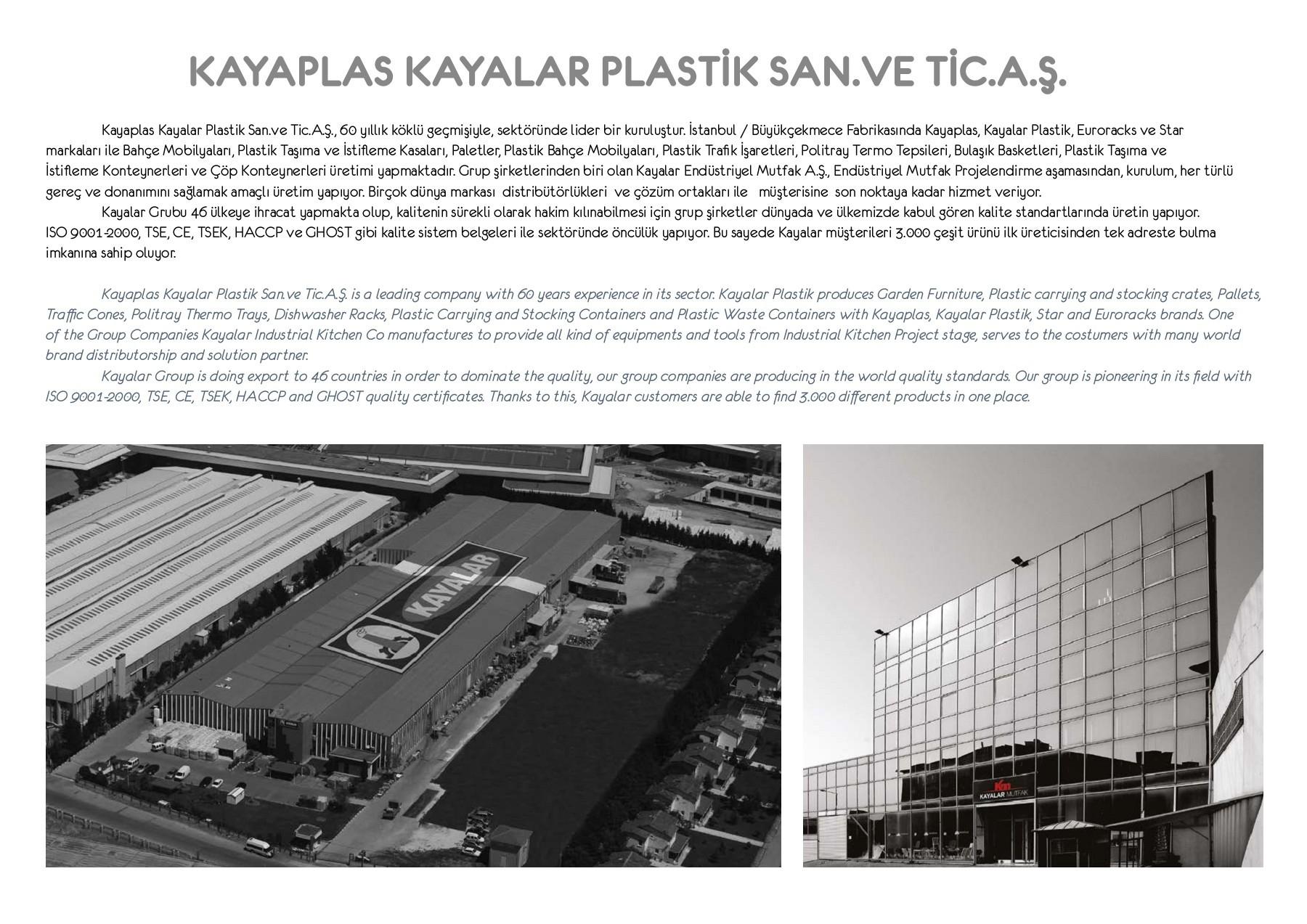 Meubles De Jardin Star - Kayalar Plastik destiné Meuble Jardin Metal