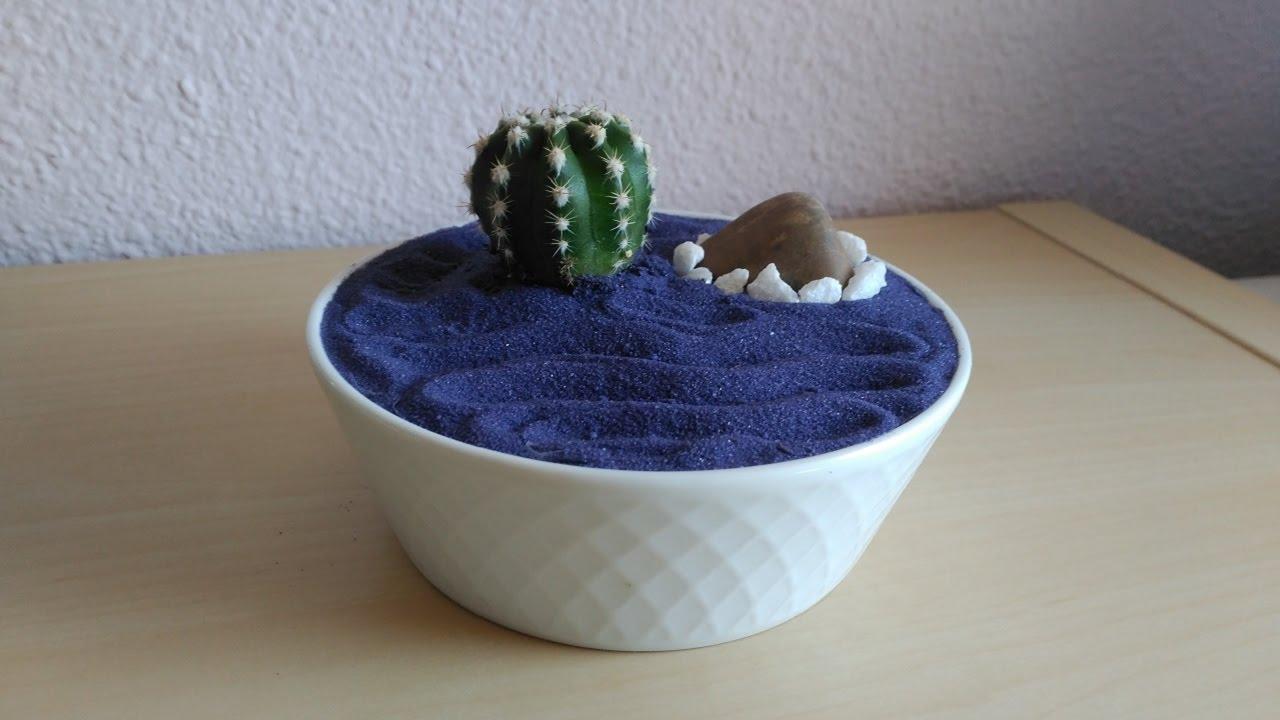 Mini Jardín Zen   Decoración Cactus avec Jardin Cactus Miniature