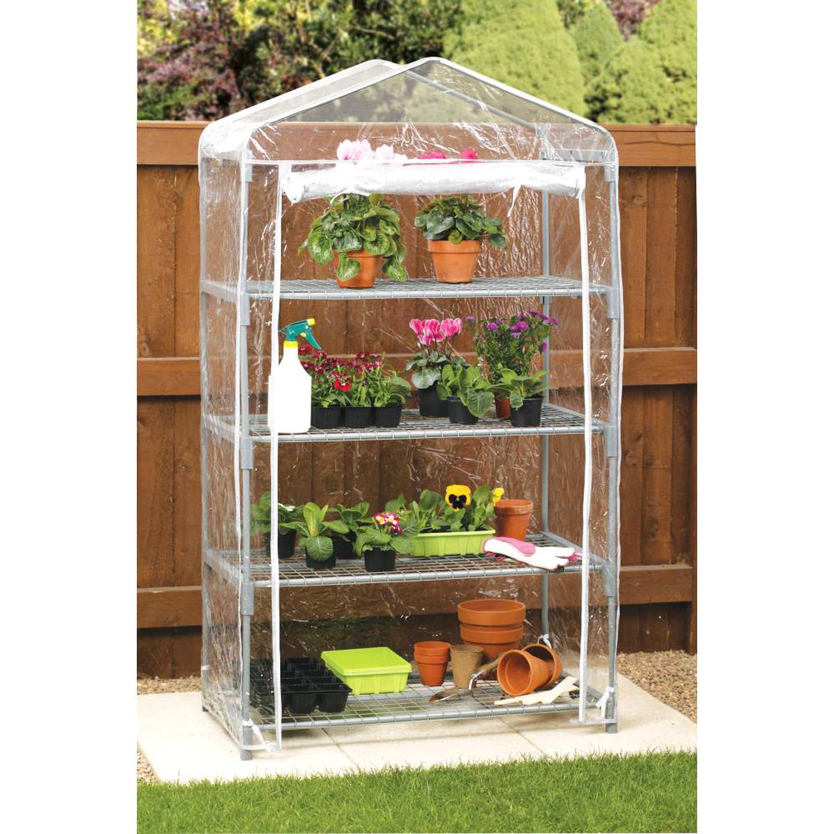 Mini Serre Jardin D'occasion | Plus Que 4 À -60% intérieur Mini Serres De Jardin