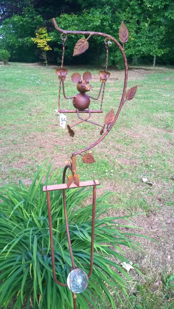 Mobile Souris - Le Jardin De Jadis avec Mobile De Jardin En Fer