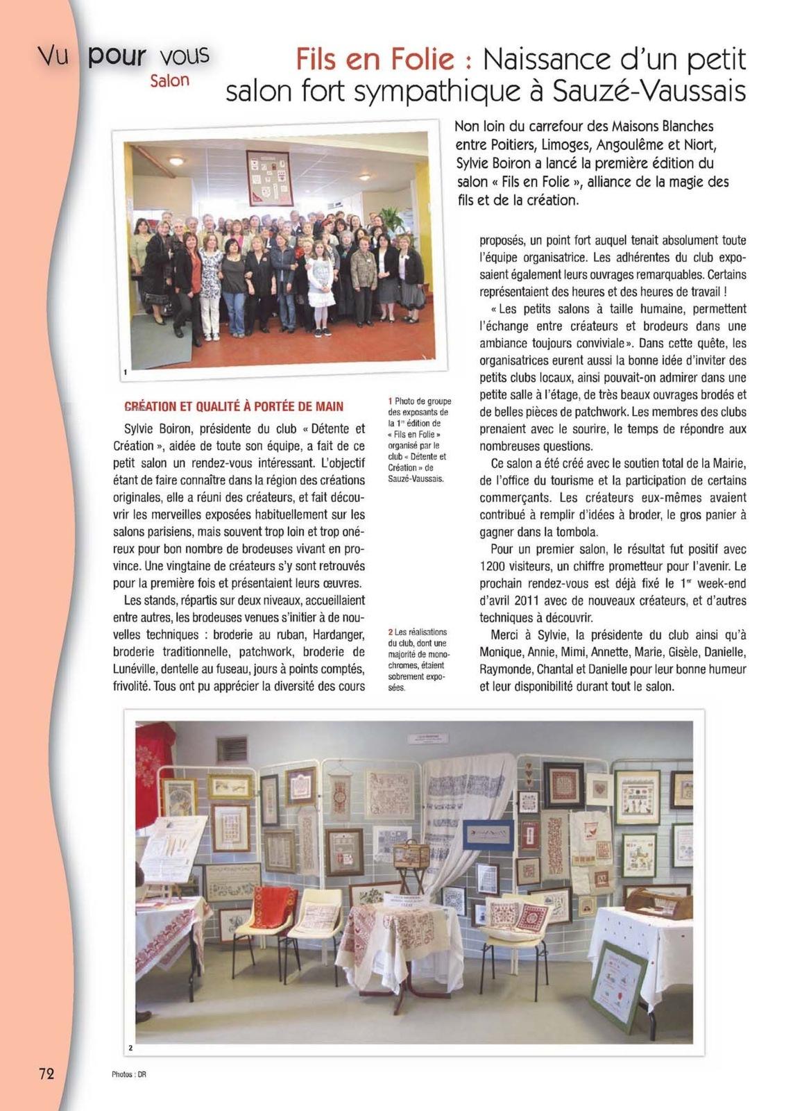 Mobilier De Jardin Carrefour Unique Point De Croix Magazine ... pour Carrefour Maison De Jardin