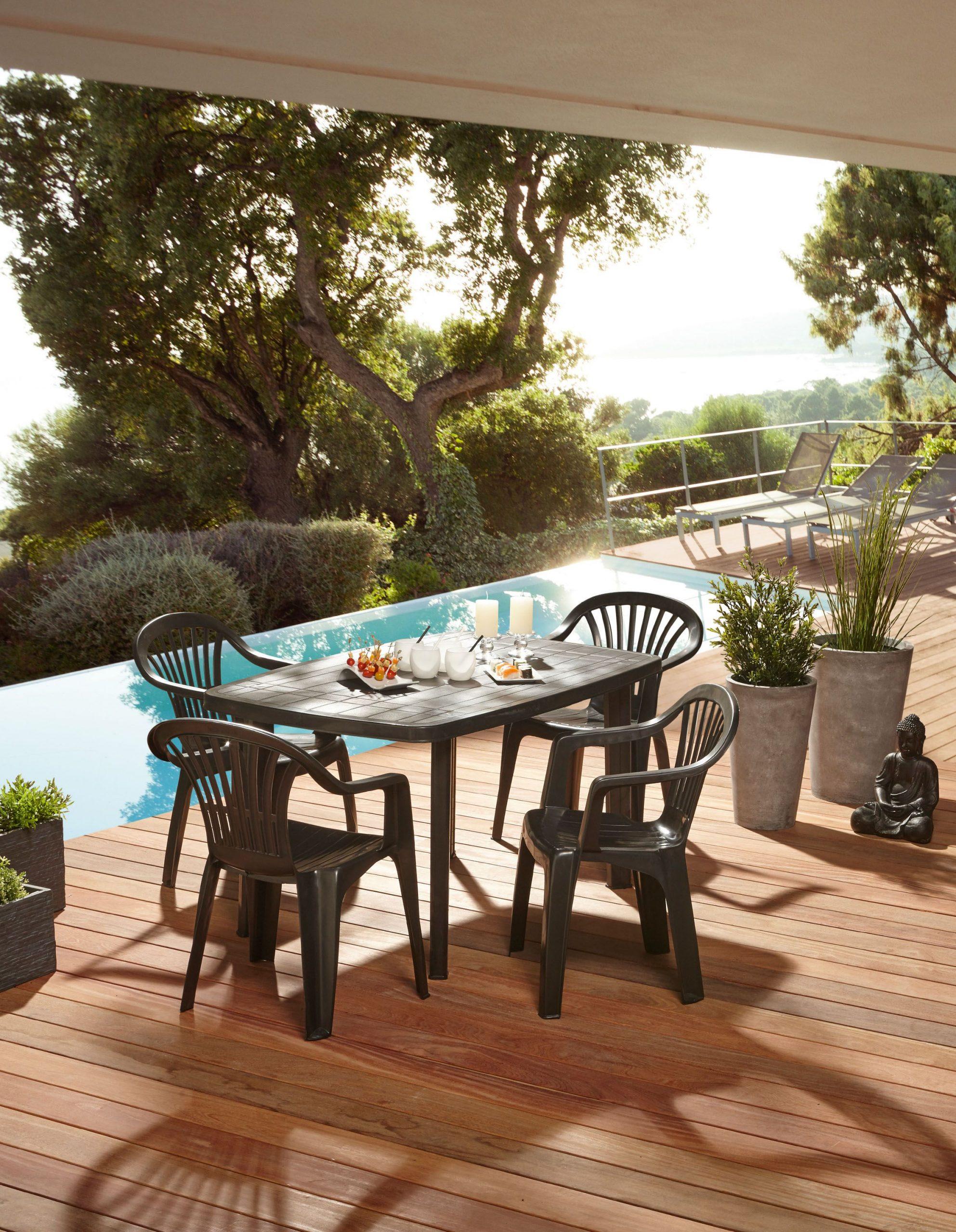 Mobilier De Jardin Centrakor | Salon De Jardin, Mobilier De ... avec Salon De Jardin Intermarché