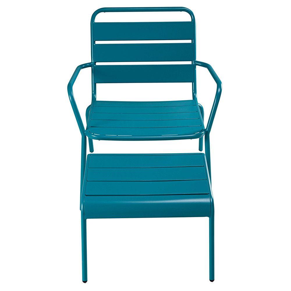 Mobilier De Jardin | Fauteuil Bas De Jardin, Fauteuil Jardin ... avec Chaise De Jardin Bleu