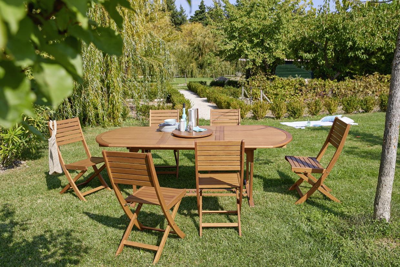 Mobilier De Jardin Jakarta De Carrefour destiné Table Et Chaise De Jardin Carrefour