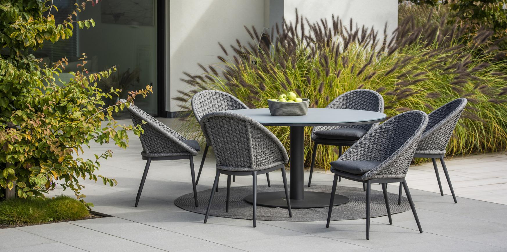 Mobilier De Jardin - Magasin De Meubles Extérieur Haut De ... avec Table De Jardin Aluminium Et Composite