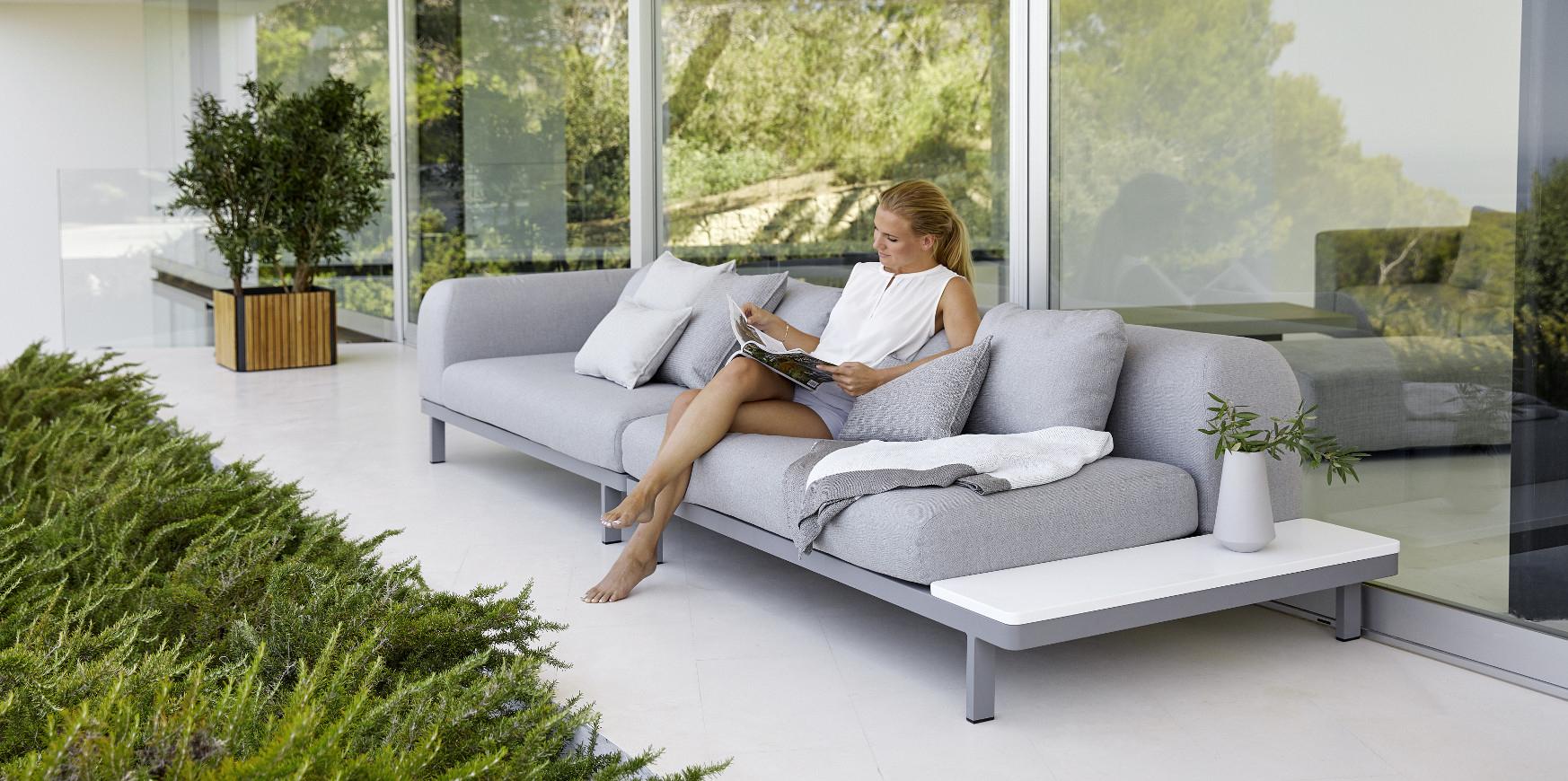 Mobilier De Jardin - Magasin De Meubles Extérieur Haut De ... encequiconcerne Salon De Jardin Design Luxe