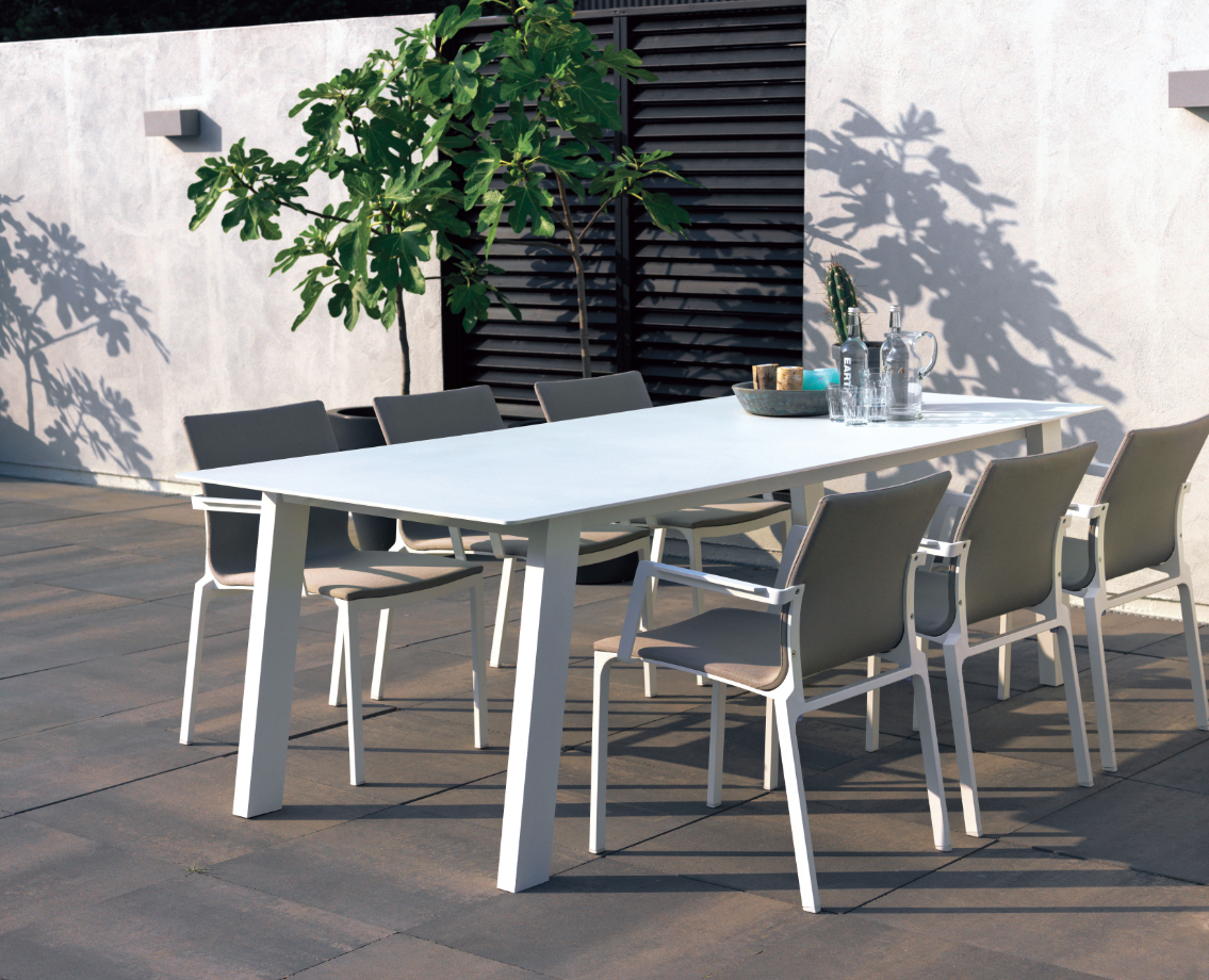 Mobilier De #jardin #truffaut | Vivre Au Jardin | Table ... à Table De Jardin Truffaut