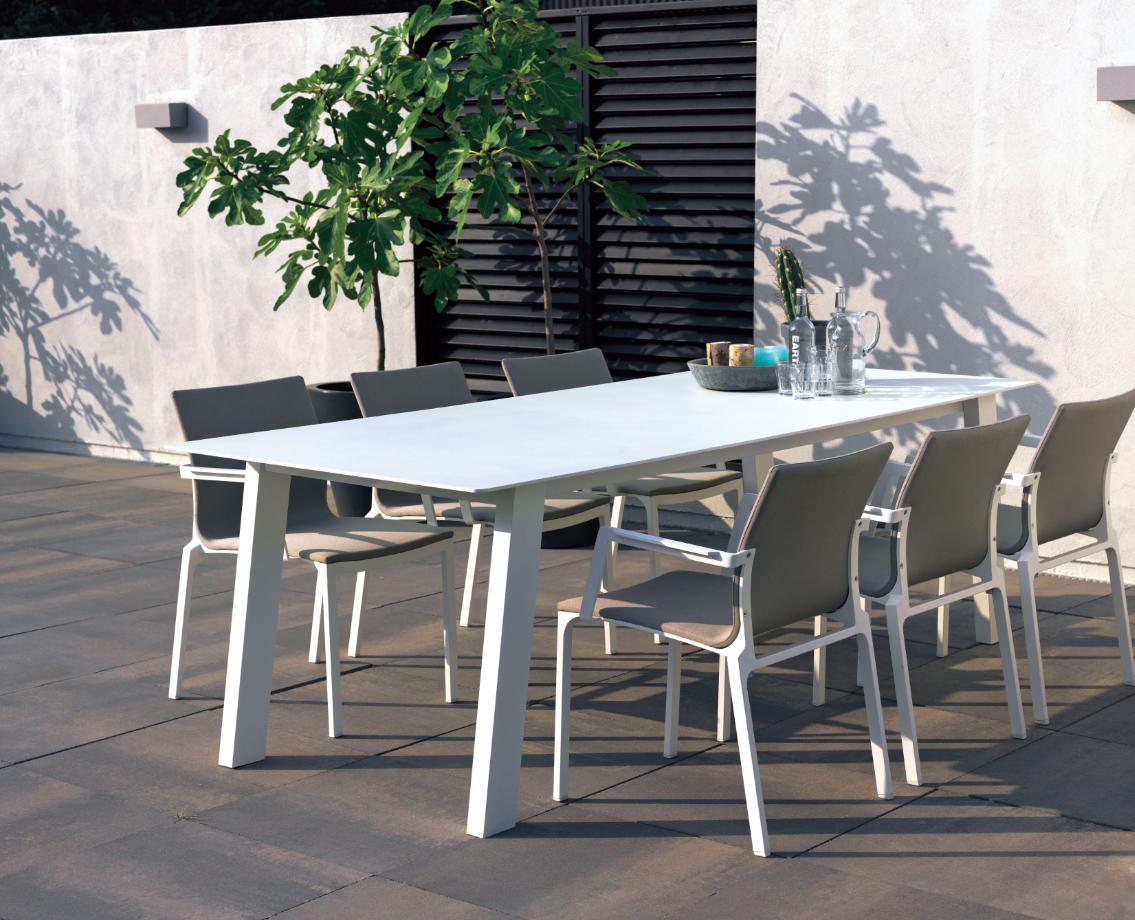 Mobilier De #jardin #truffaut   Vivre Au Jardin   Table ... concernant Truffaut Table De Jardin