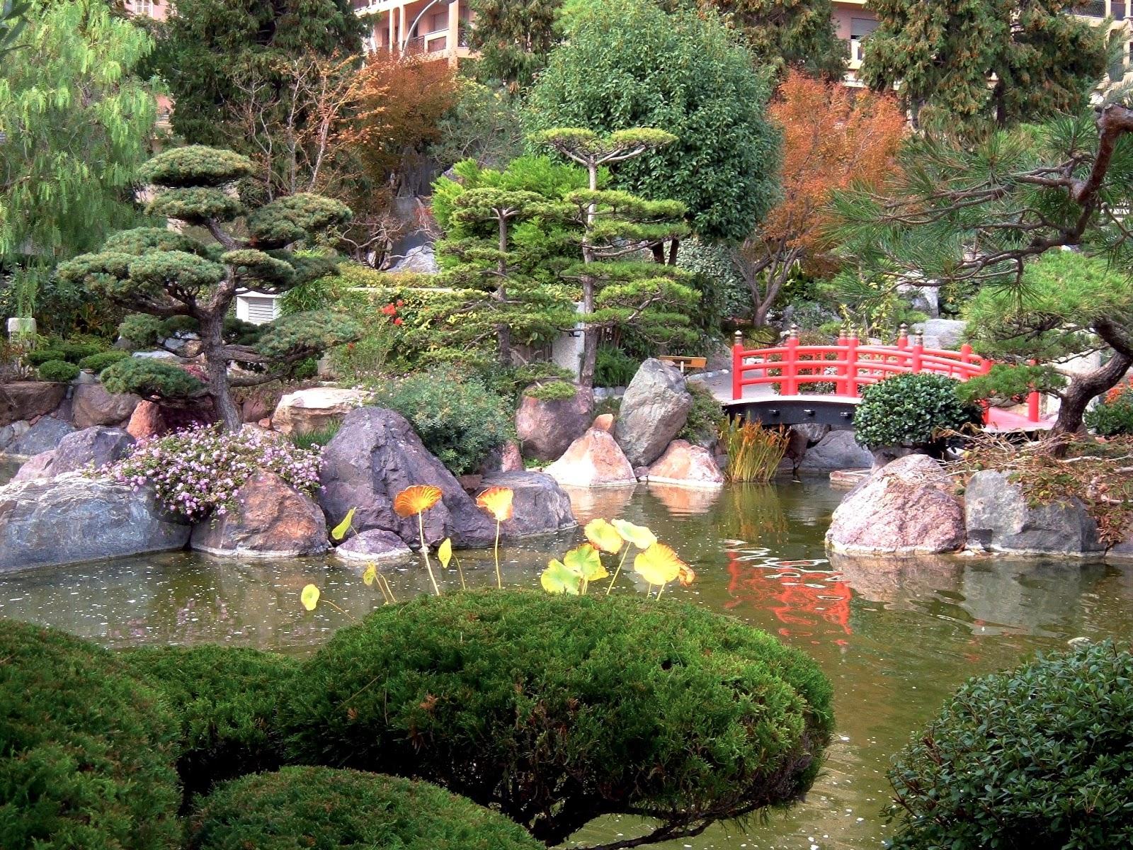 Modele De Jardin Japonais Concept - Idees Conception Jardin pour Modele De Jardin Japonais
