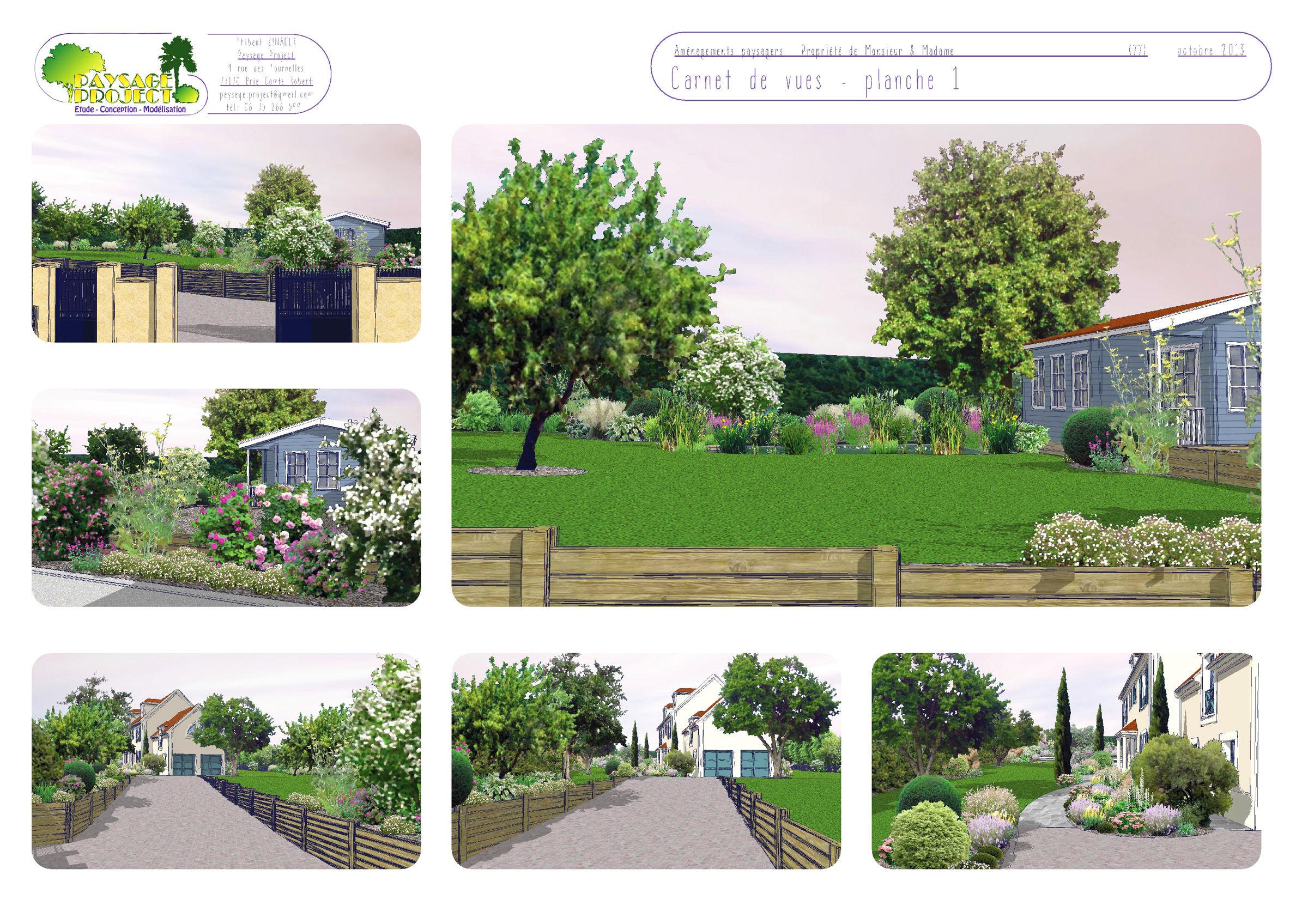 Modelisation Jardin 3D Paysage Project 13   Paysage-Project avec 3D Jardin & Paysagisme