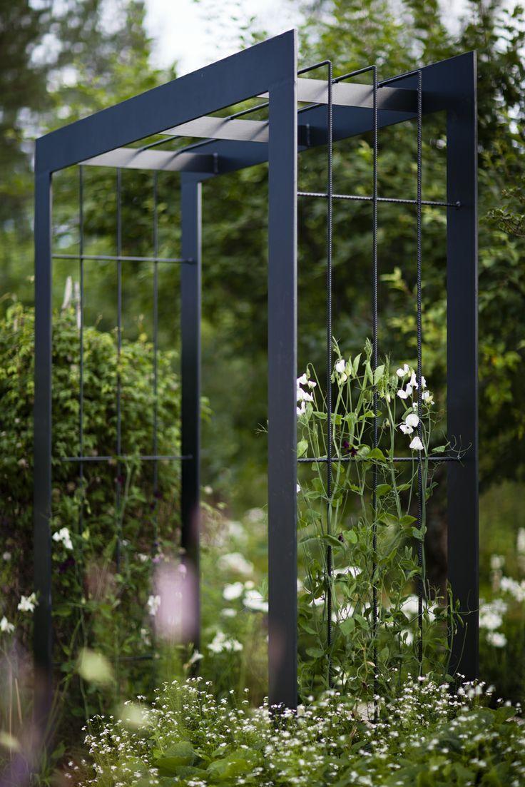 Modern Arbor | Arche Jardin, Tonelle Jardin, Haies De Jardin concernant Treillis Metal Jardin
