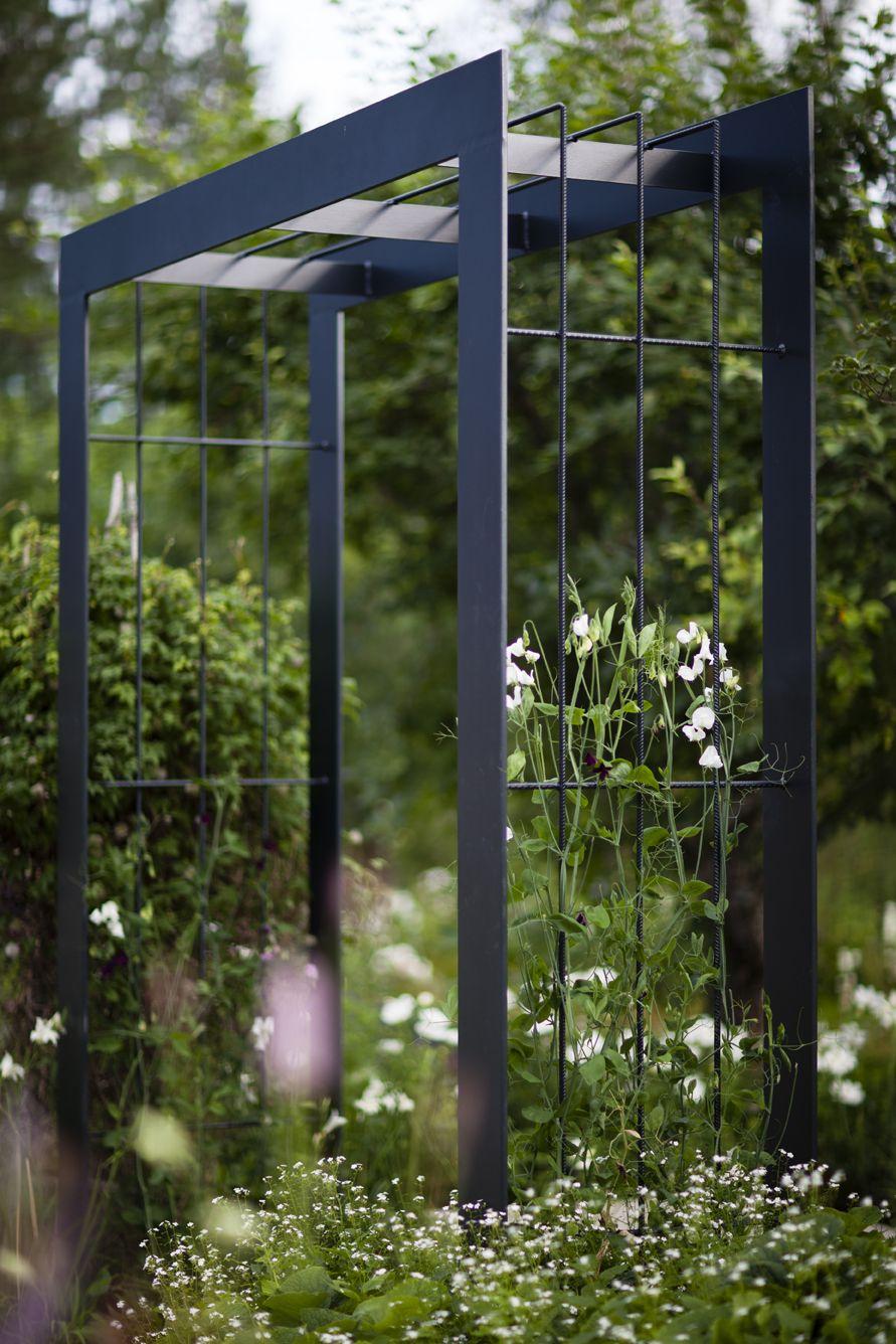 Modern Arbor | Arche Jardin, Tonelle Jardin, Treillis Jardin destiné Tonelle De Jardin