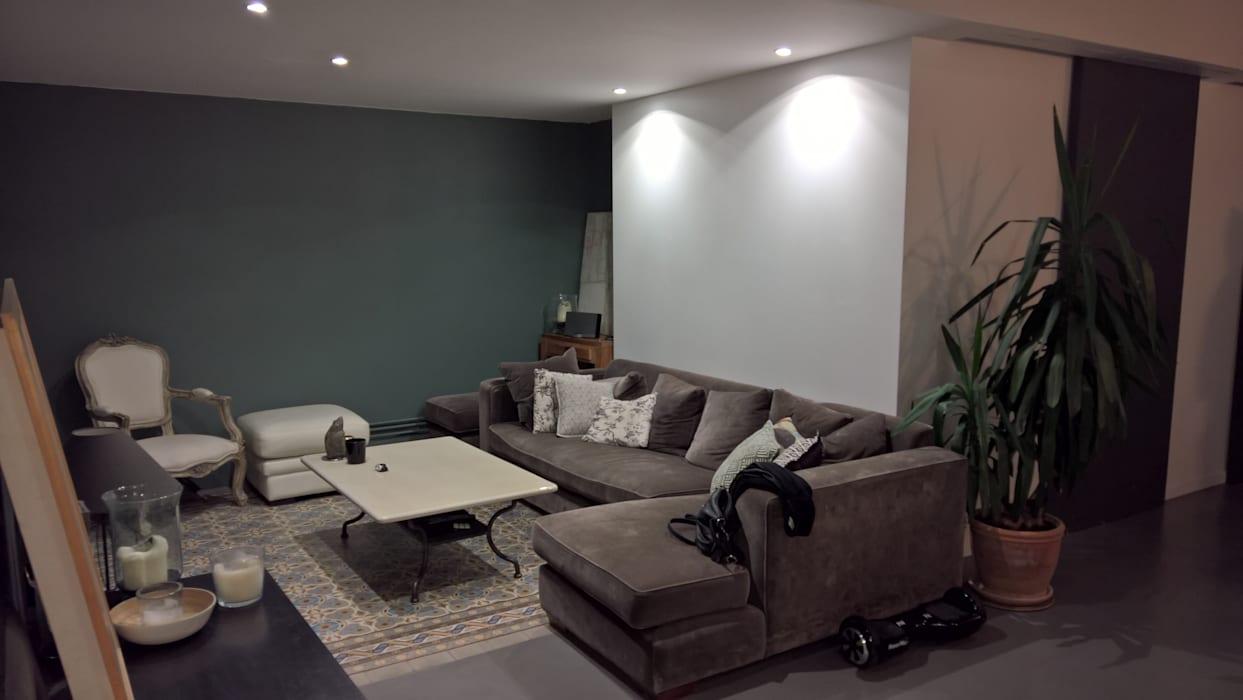Modern Oturma Odası L&d Intérieur Modern | Homify concernant Verriere Jardin