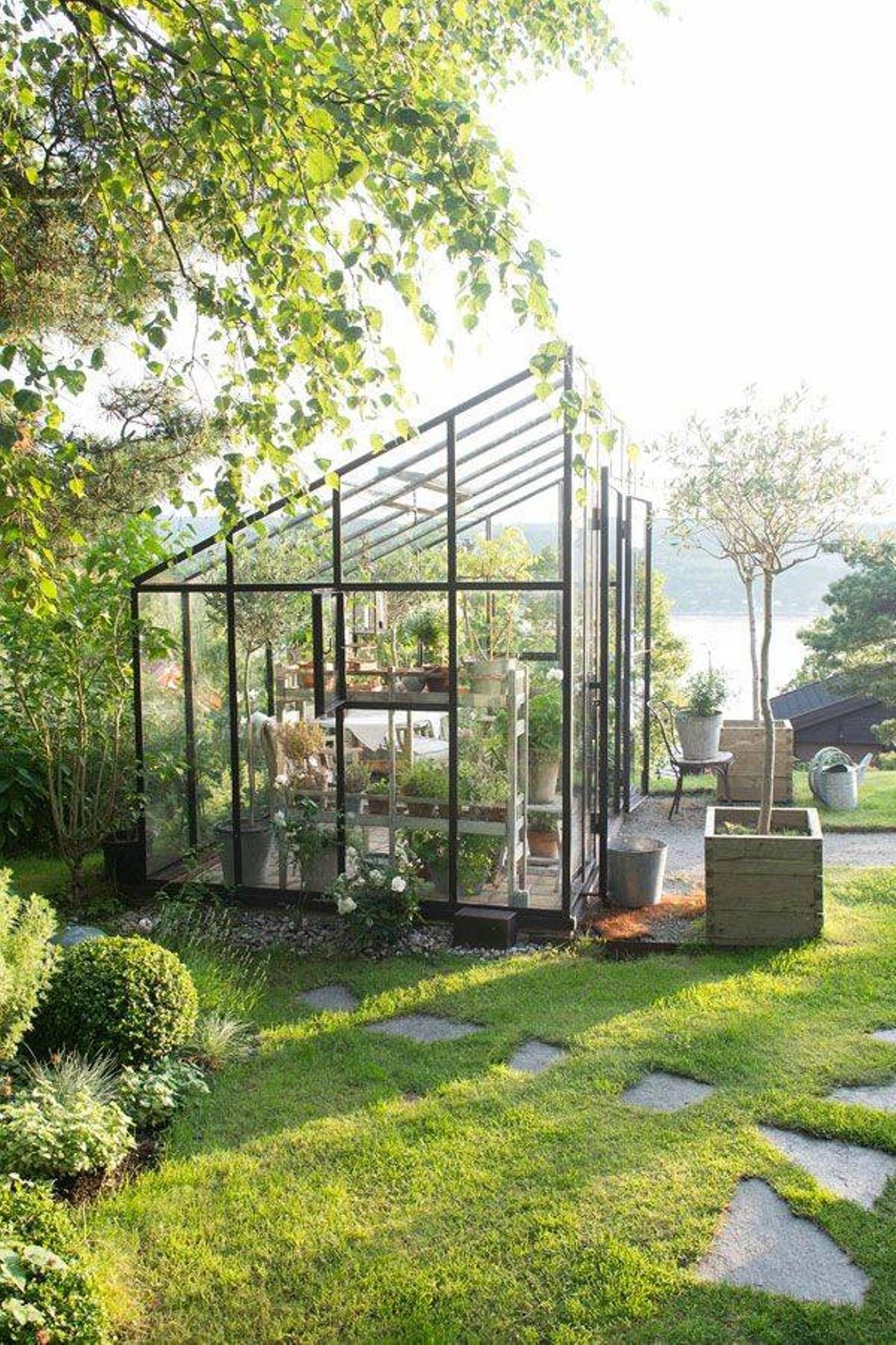 Moderne • Verrière • Jardin D'hiver • Veranda • | Serre ... serapportantà Verriere Jardin