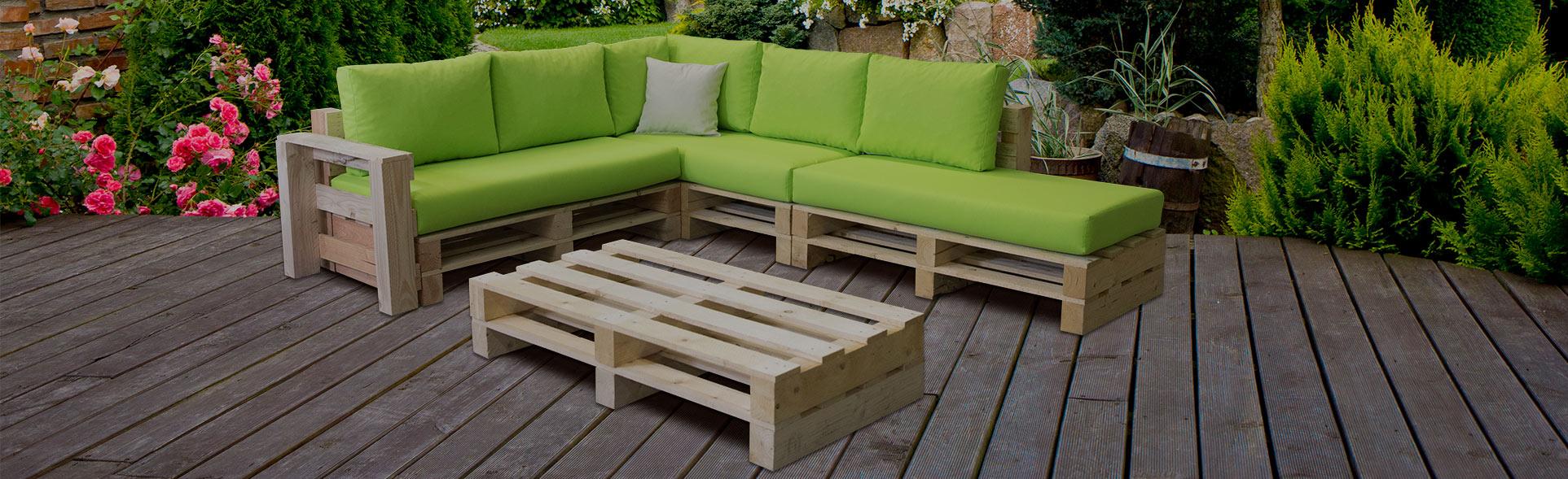 Modulpop - Composez Le Canapé Palette Idéal Pour Votre Extérieur à Canapé De Jardin En Palette