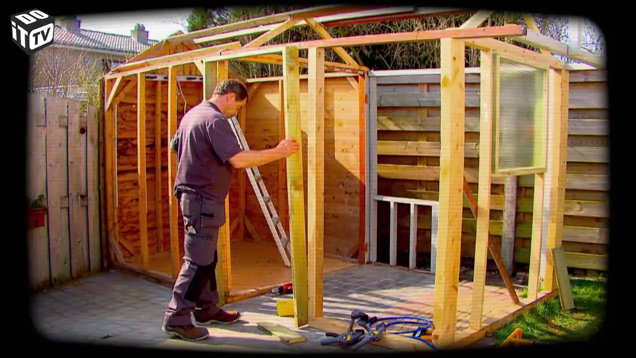 Mon Abri De Jardin concernant Construire Une Cabane De Jardin Soi Meme