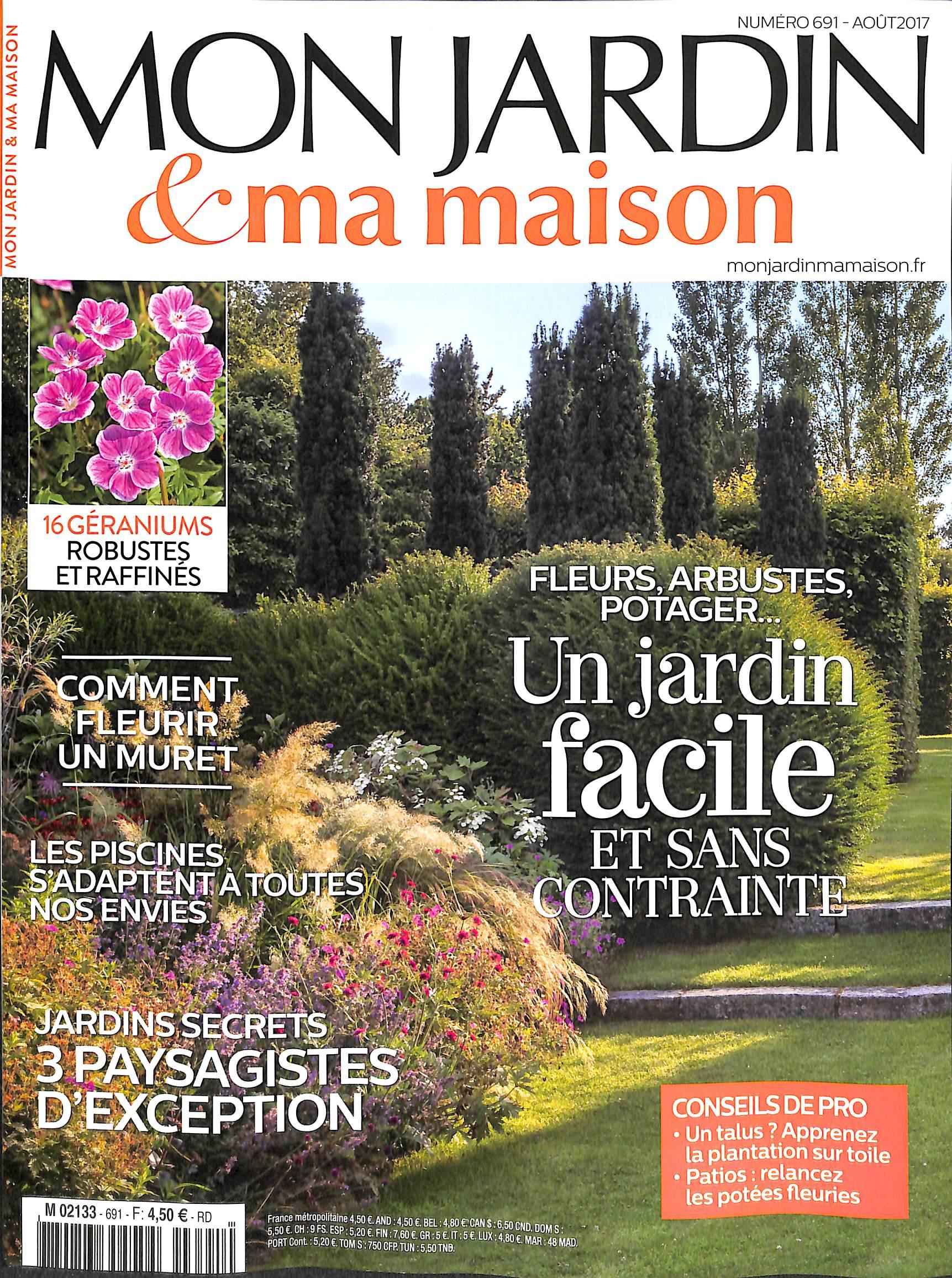 Mon Jardin Et Ma Maison N° 691 – Abonnement Mon Jardin Et Ma ... encequiconcerne Magazine Mon Jardin Et Ma Maison