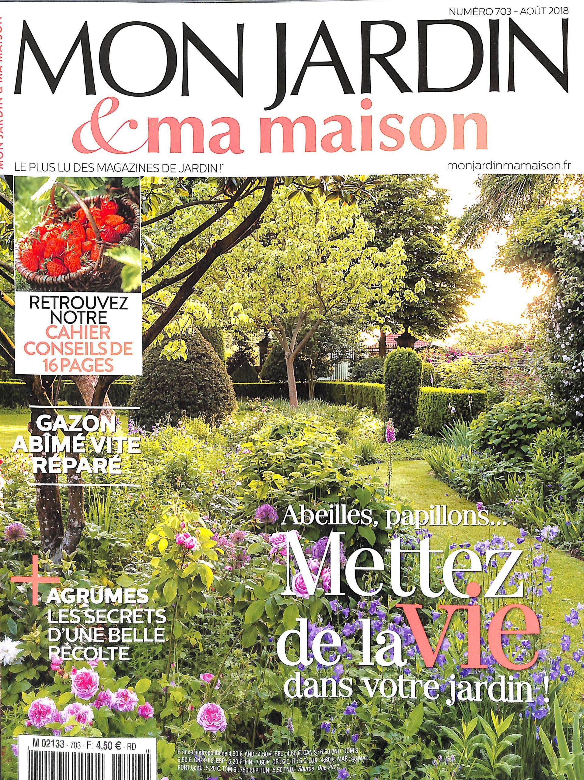 Mon Jardin Et Ma Maison N° 703 – Abonnement Mon Jardin Et Ma ... concernant Magazine Mon Jardin Et Ma Maison