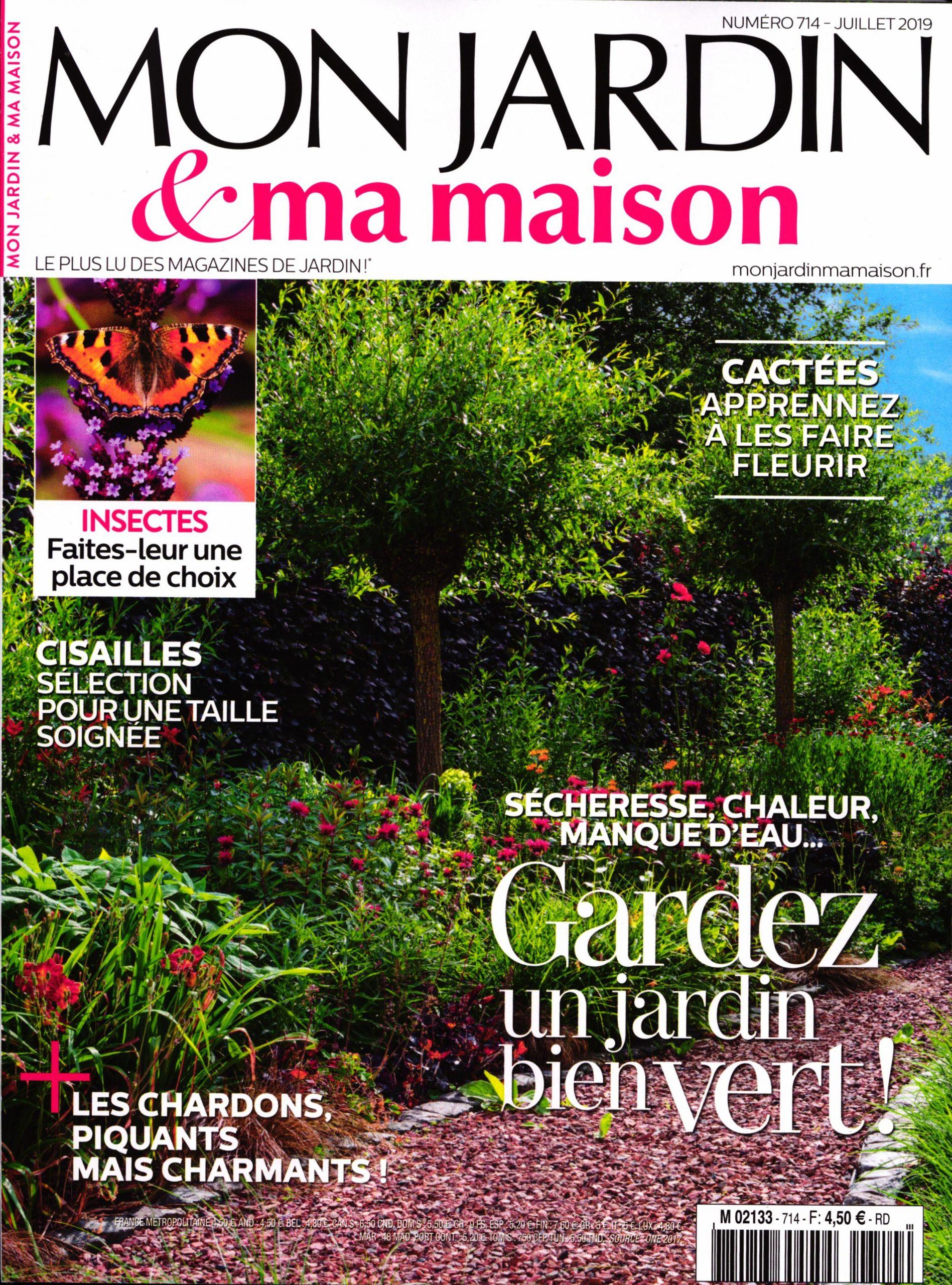 Mon Jardin Et Ma Maison N° 714 – Abonnement Mon Jardin Et Ma ... intérieur Magazine Mon Jardin Et Ma Maison
