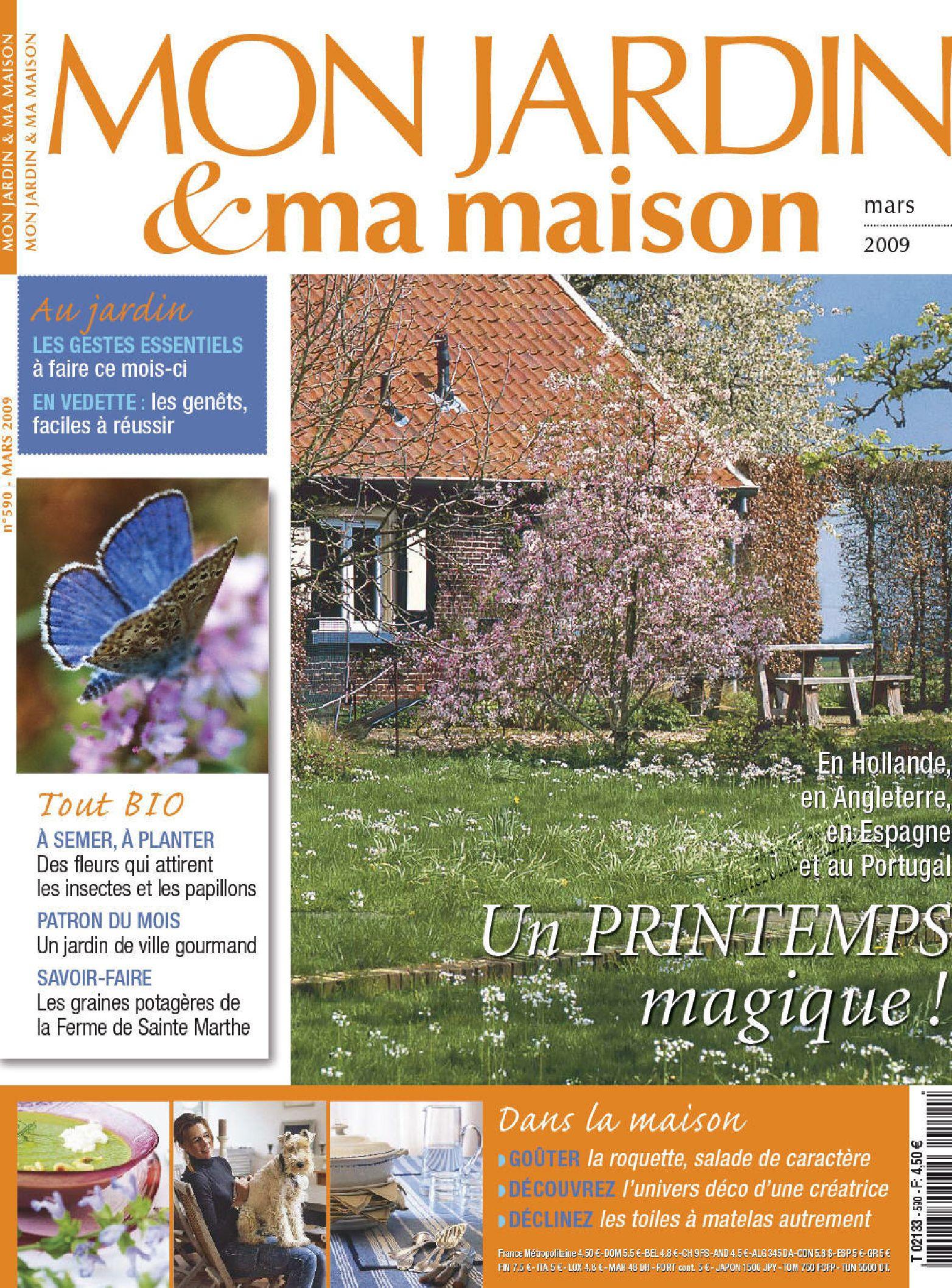 Mon.jardin.ma.maison.french.mag-Eland By Ebooks Land - Issuu destiné Magazine Mon Jardin Et Ma Maison