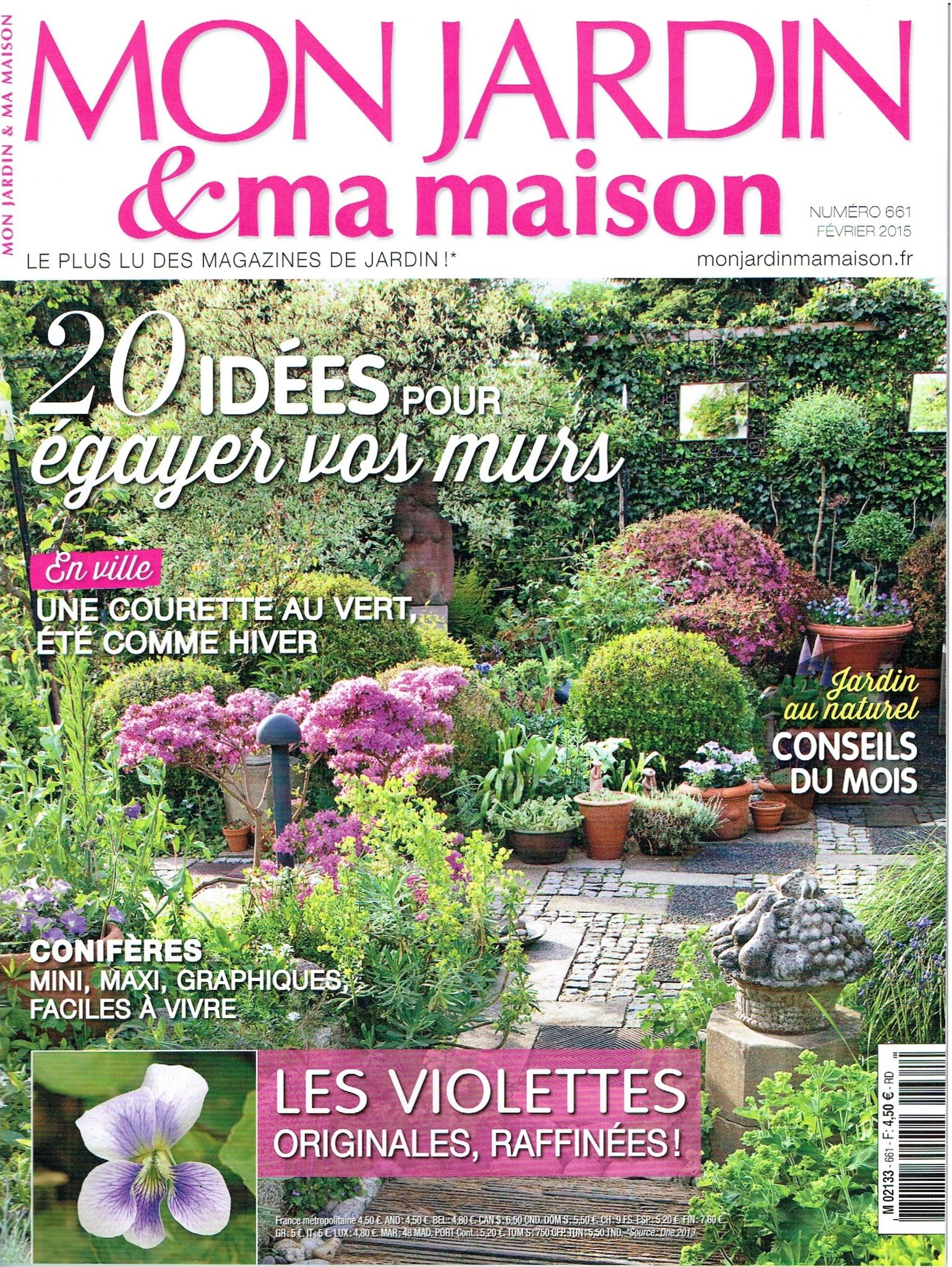 Mon Jardin, Ma Maison - Les Fleurs Ont Une Âme encequiconcerne Magazine Mon Jardin Et Ma Maison