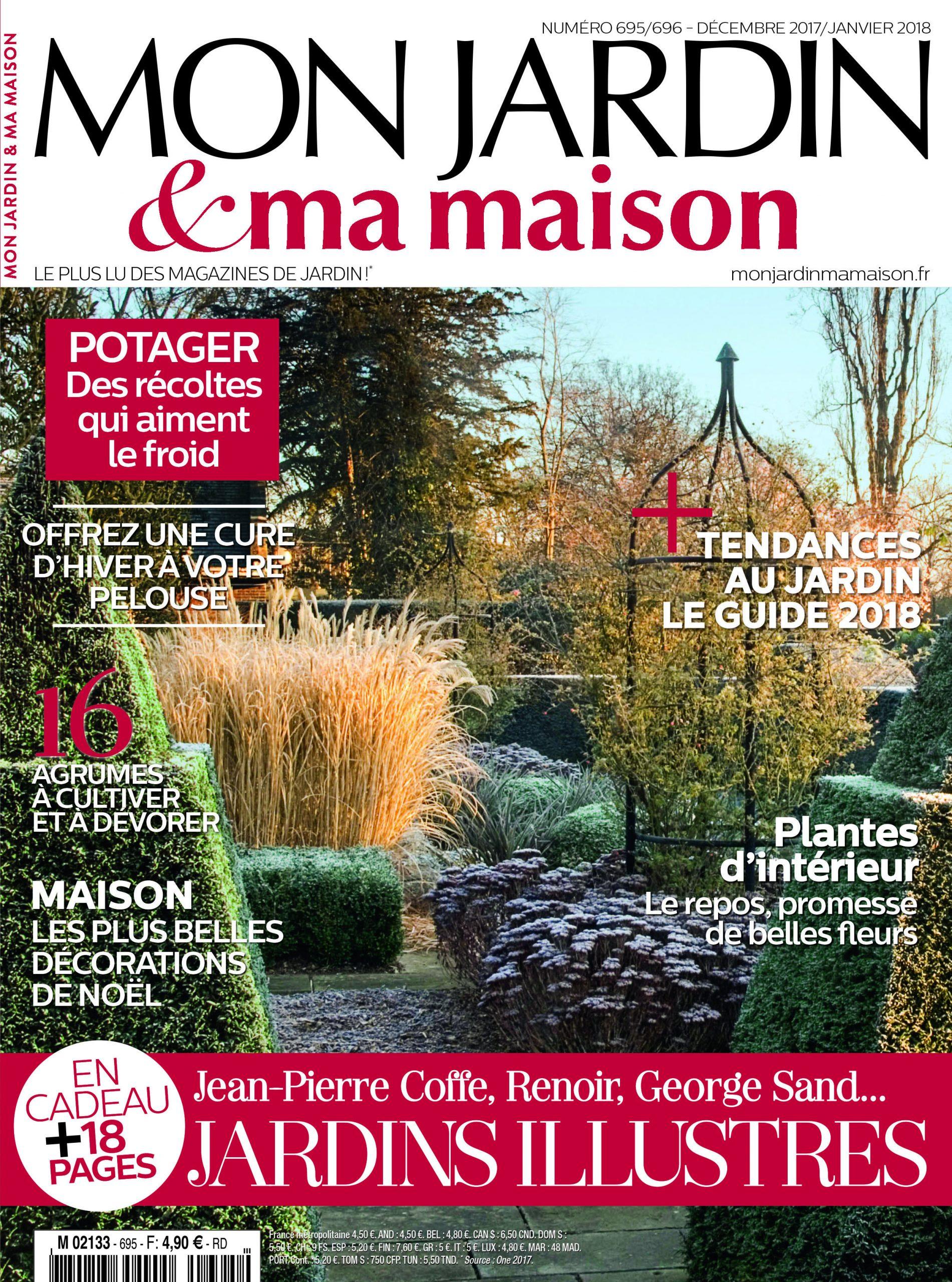 Mon Jardin Ma Maison N°695 | Jardin Maison avec Magazine Mon Jardin Et Ma Maison