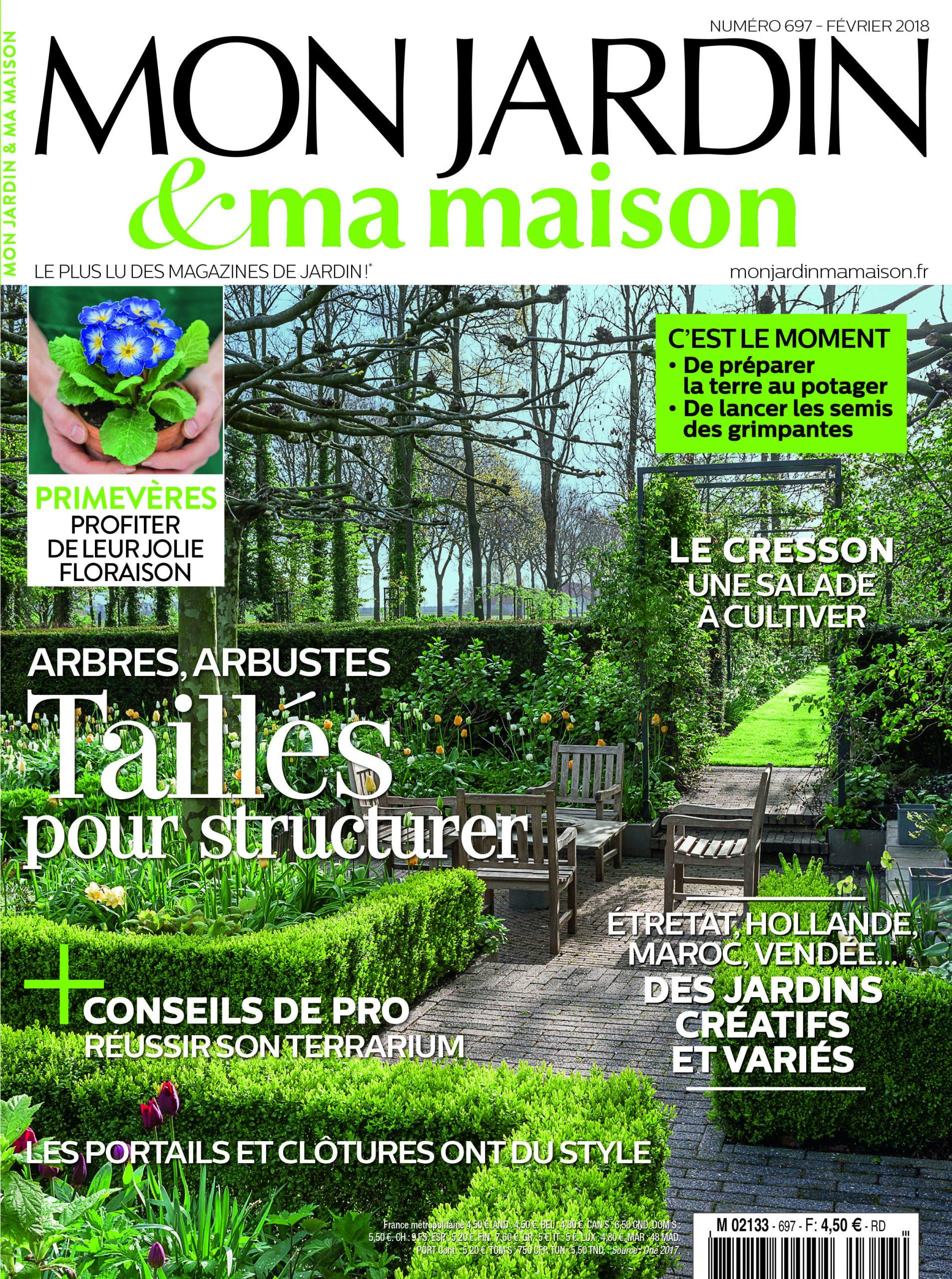 Mon Jardin Ma Maison N°697 | Jardin Maison, Jardins ... serapportantà Magazine Mon Jardin Et Ma Maison