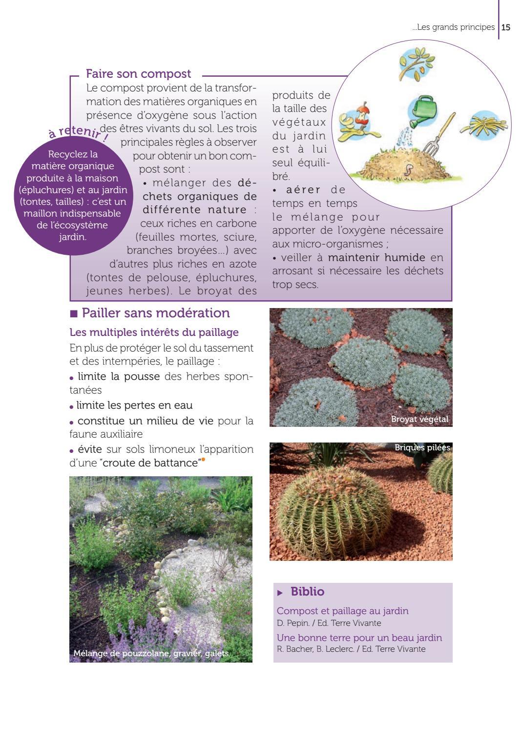 Mon Jardin Méditerranéen Au Naturel La Pratique Des Méthodes ... dedans Bonne Terre Pour Jardin