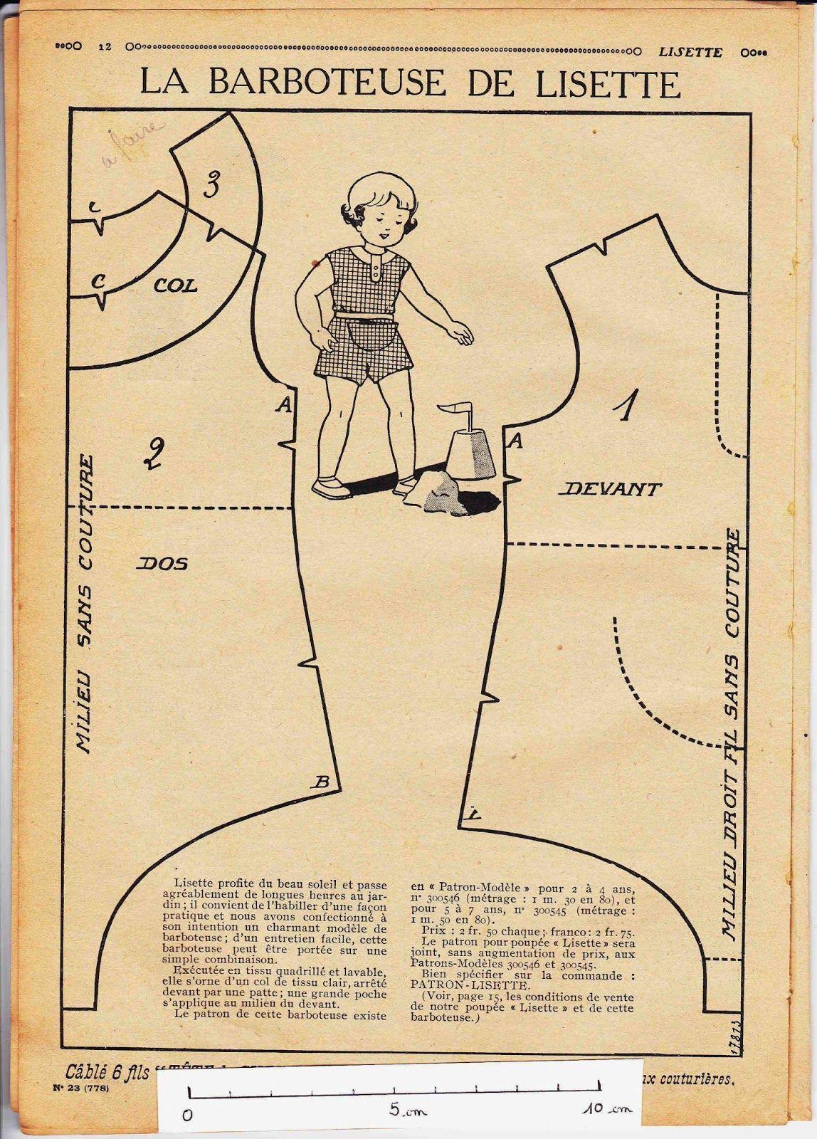 Mon Jardin Sur La Toile: Lisette (Poupée Lisette) - Love ... destiné Transate Jardin