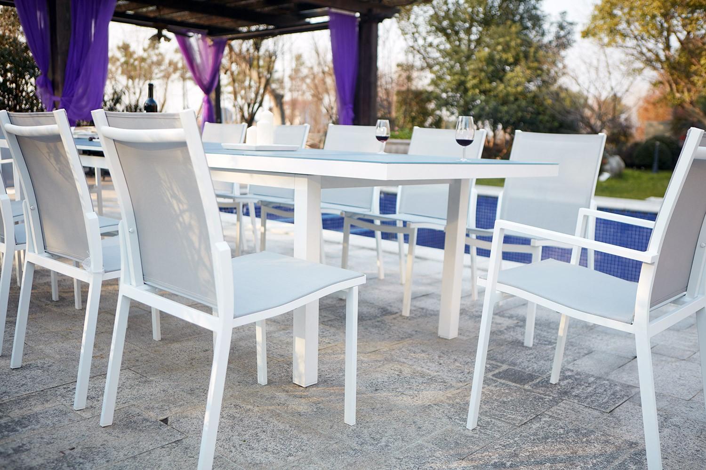 Moniga 12 avec Table De Jardin Avec Chaise Pas Cher