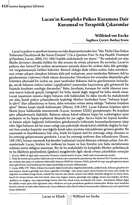 Monokl - Sayı 6-7 - 2009 Yaz (Lacan Seçkisi Sayısı) Kısım 2 ... à Abris De Jardin Occasion