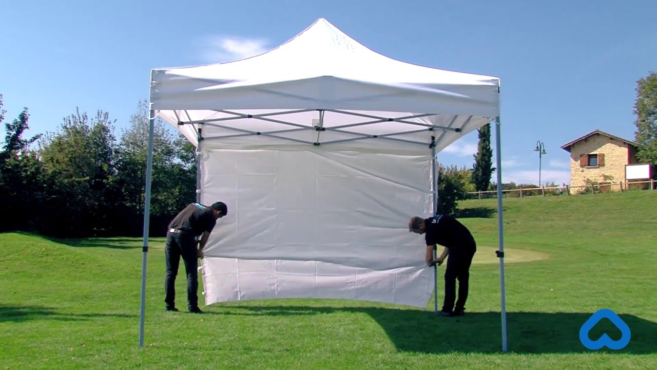 Montage De La Tente Pliante Eco En 30S : Vidéo Démo dedans Tente De Jardin Pas Cher