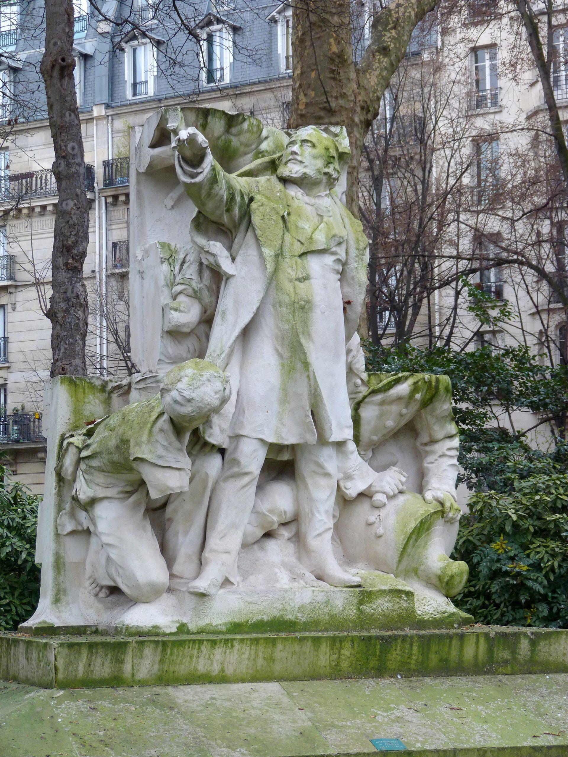 Monument À Léon Gambetta (Paris) — Wikipédia concernant Statues De Jardin Occasion