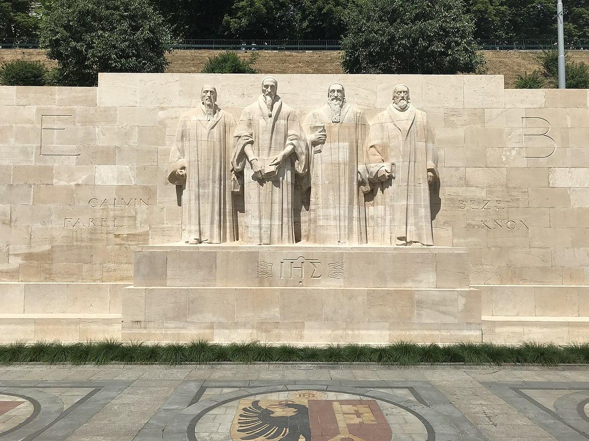 Monument International De La Réformation — Wikipédia intérieur Statues De Jardin Occasion
