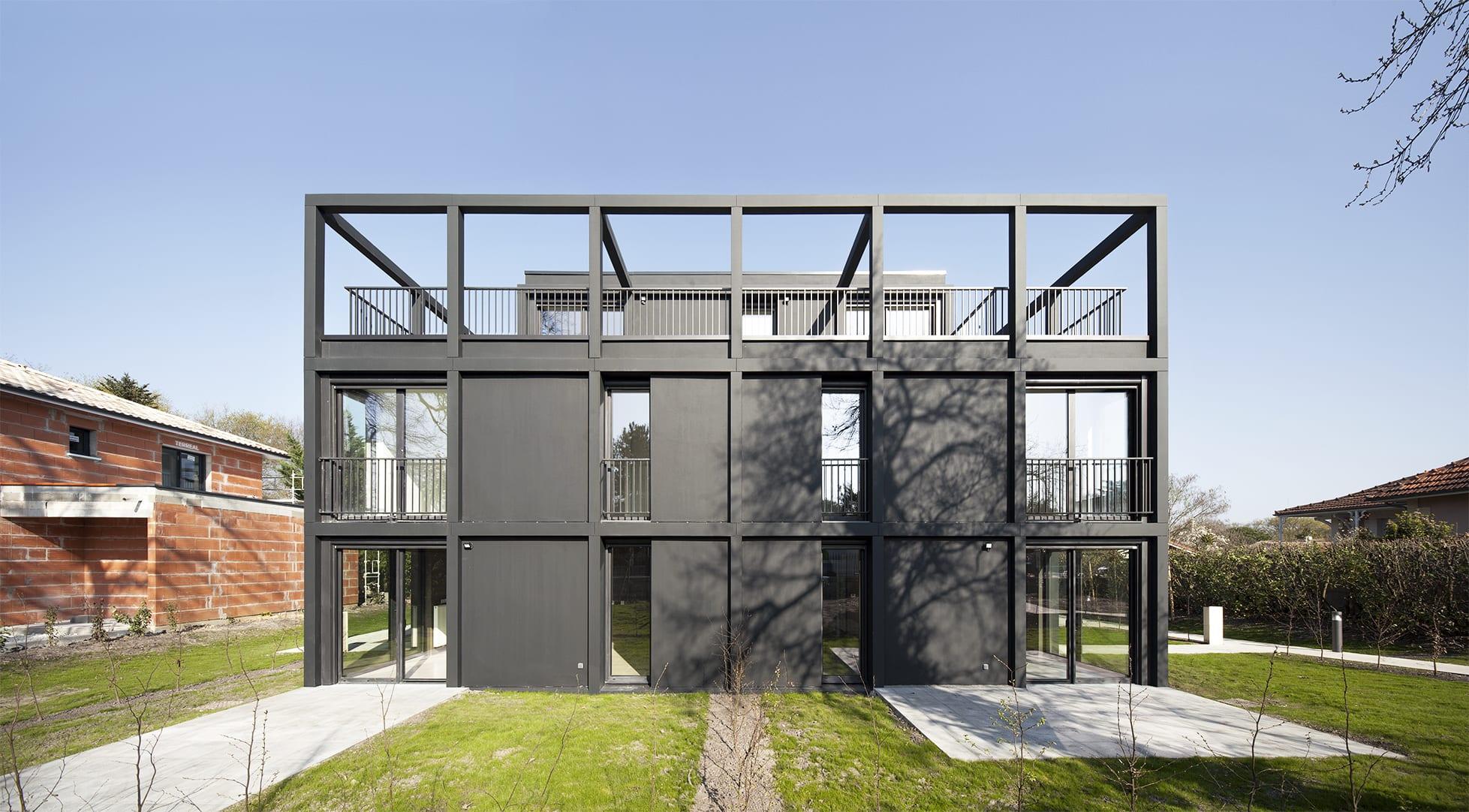 More Architecture, Edouard Decam · Résidence Intermezzo ... concernant Salon De Jardin D Angle Pas Cher