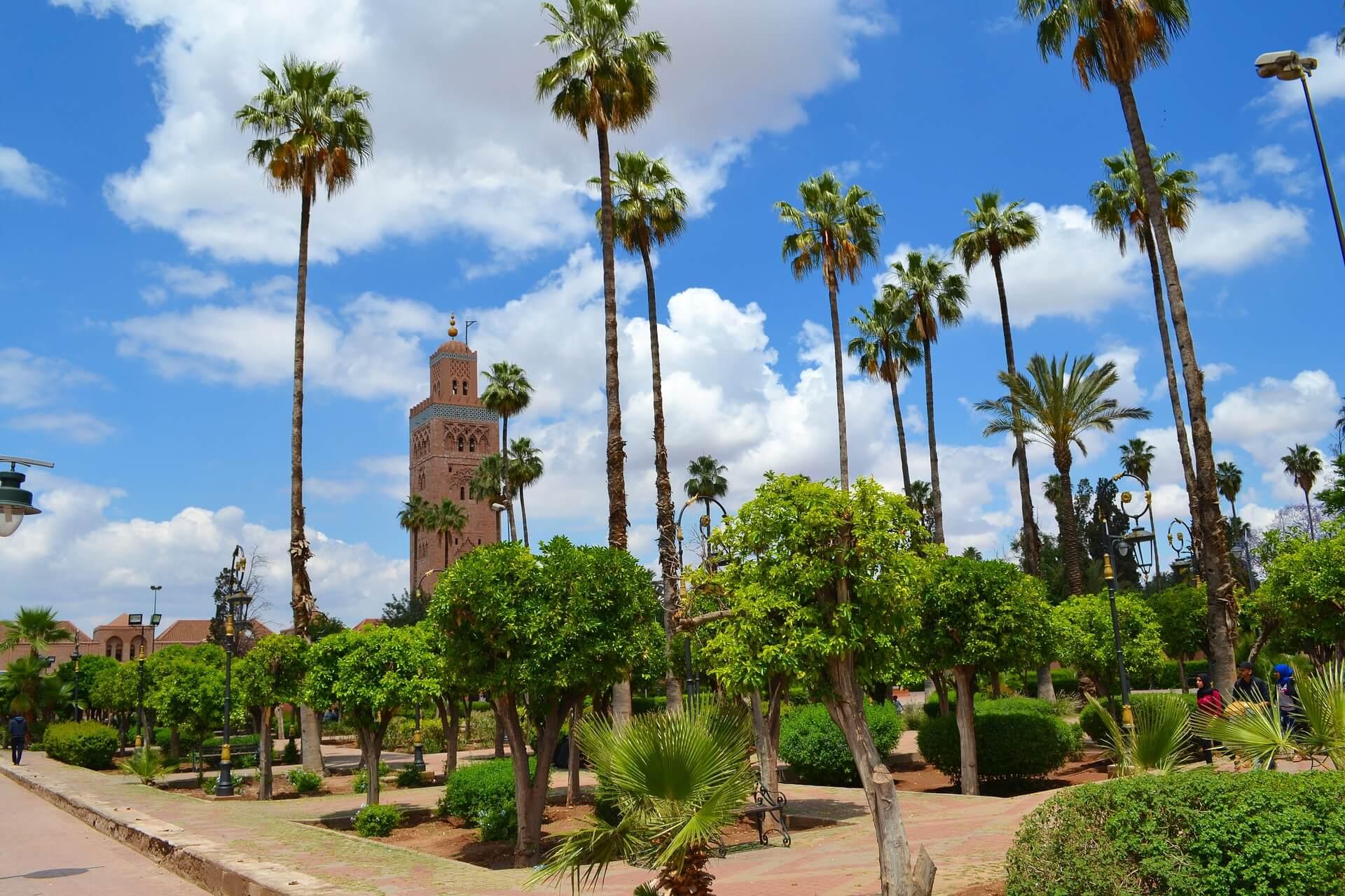 Mosquée Koutoubia (Minaret De La Koutoubia) - Visiter Marrakech destiné Jardin De La Koutoubia