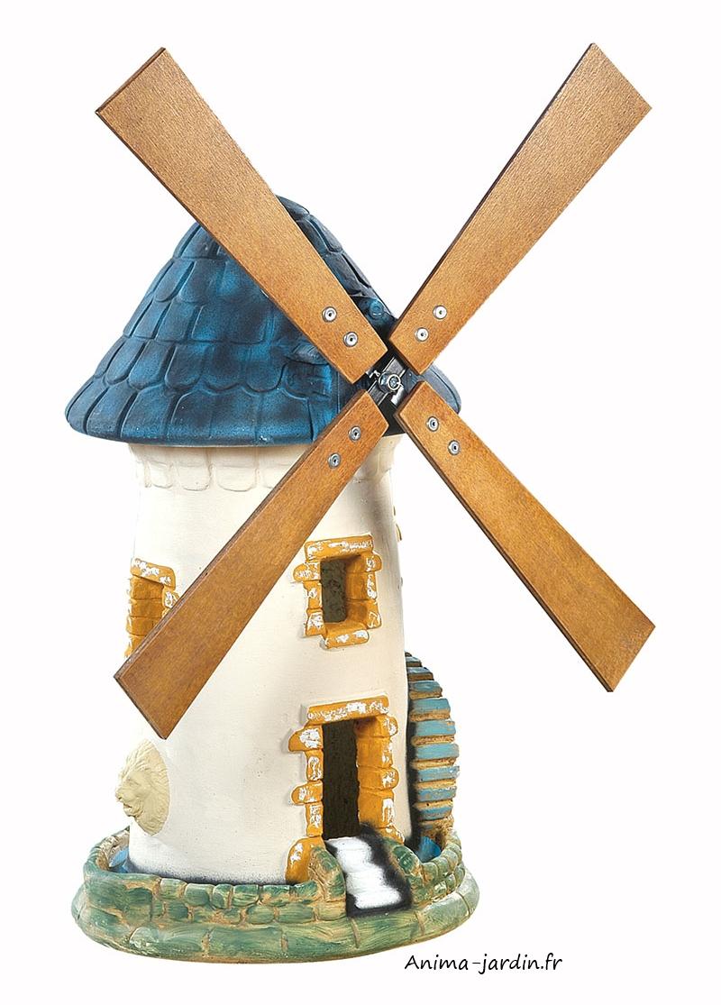 Moulin À Vent, Ardoise, Décoration De Jardin, 68 Cm, Achat Pas Cher à Construire Un Moulin A Vent De Jardin