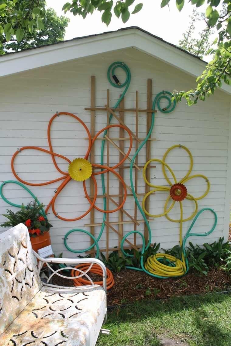 Mur Extérieur - Bricolage De Déco Pour Espace Vert | Deco ... à Decoration Pour Mur Exterieur De Jardin