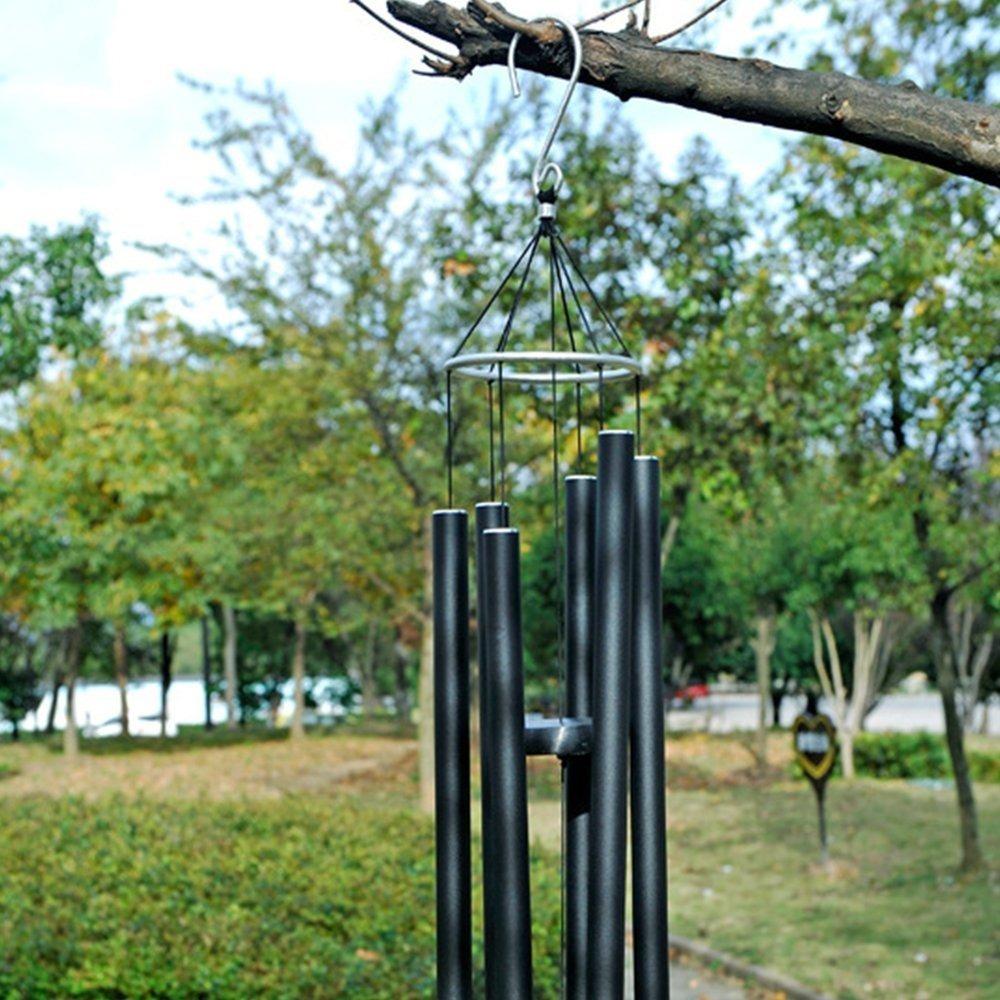 Música De Metal Mate Timbre De Viento Adornos De Jardín Deco destiné Deco Metal Jardin
