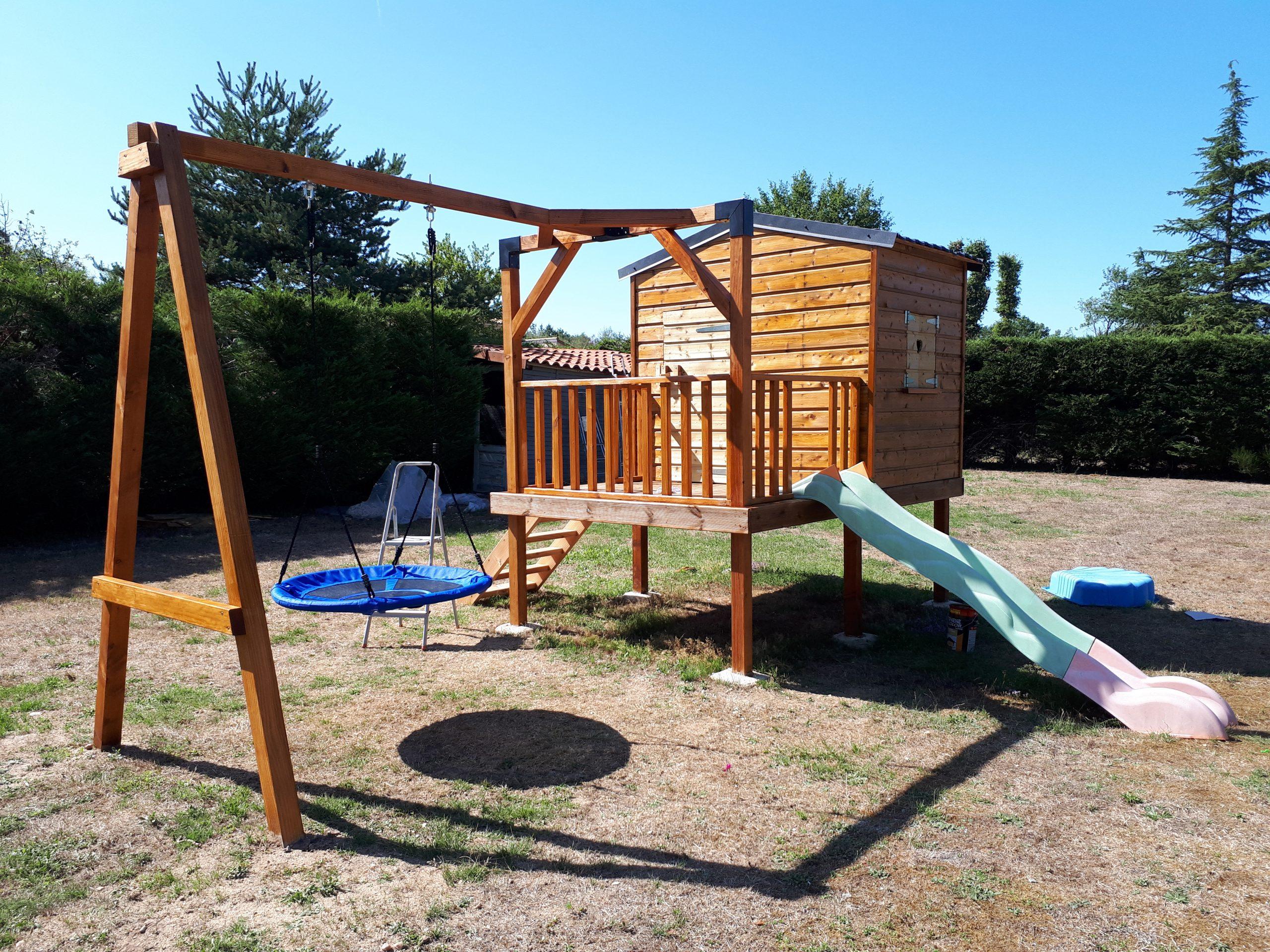 My Cabane Cabane Bois Enfant, Abri De Jardin Bois, Carport ... concernant Maison De Jardin Pour Enfant