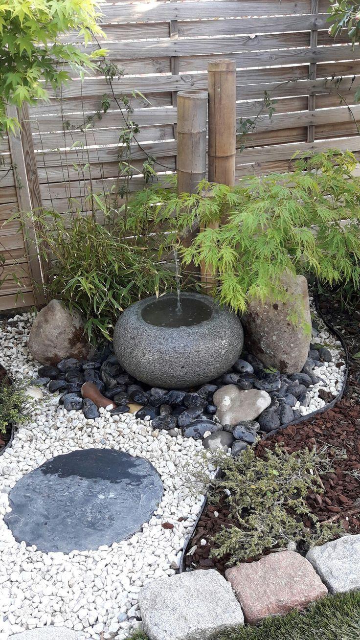 My Little Zen Corner. | Petit Jardin Japonais, Design De ... intérieur Fontaine Jardin Japonais