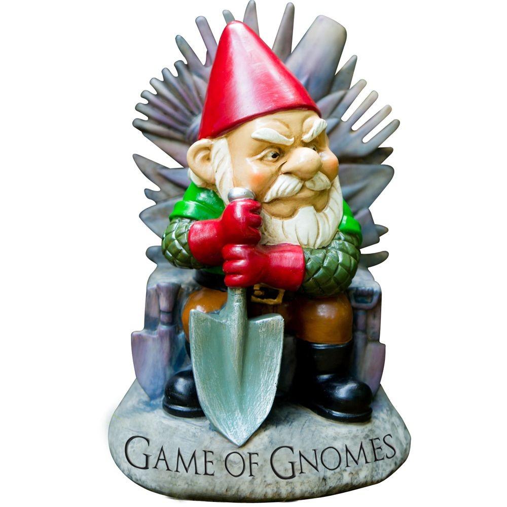 Nain De Jardin Game Of Gnomes à Nain De Jardin Pas Cher