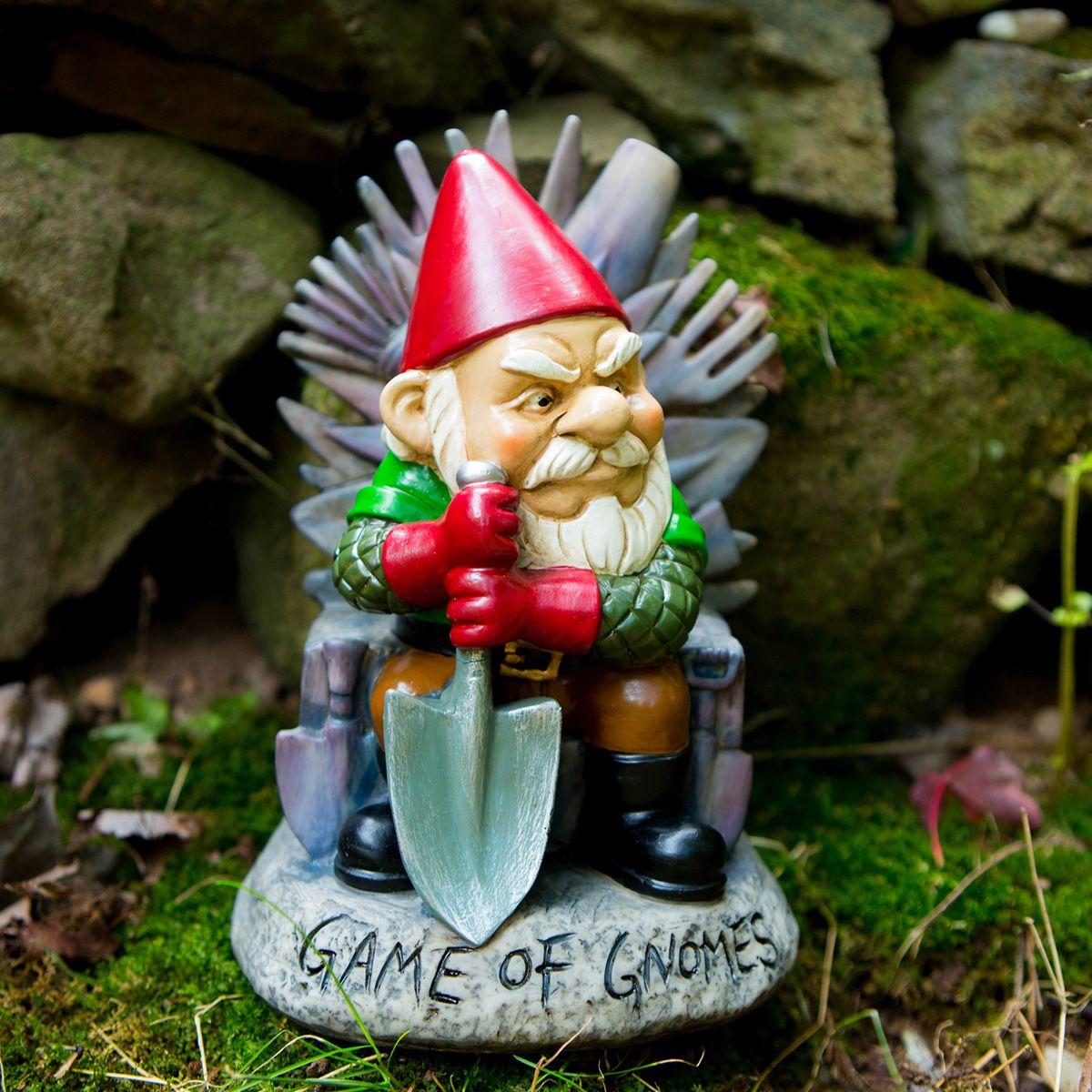 Nain De Jardin Game Of Gnomes serapportantà Naine De Jardin